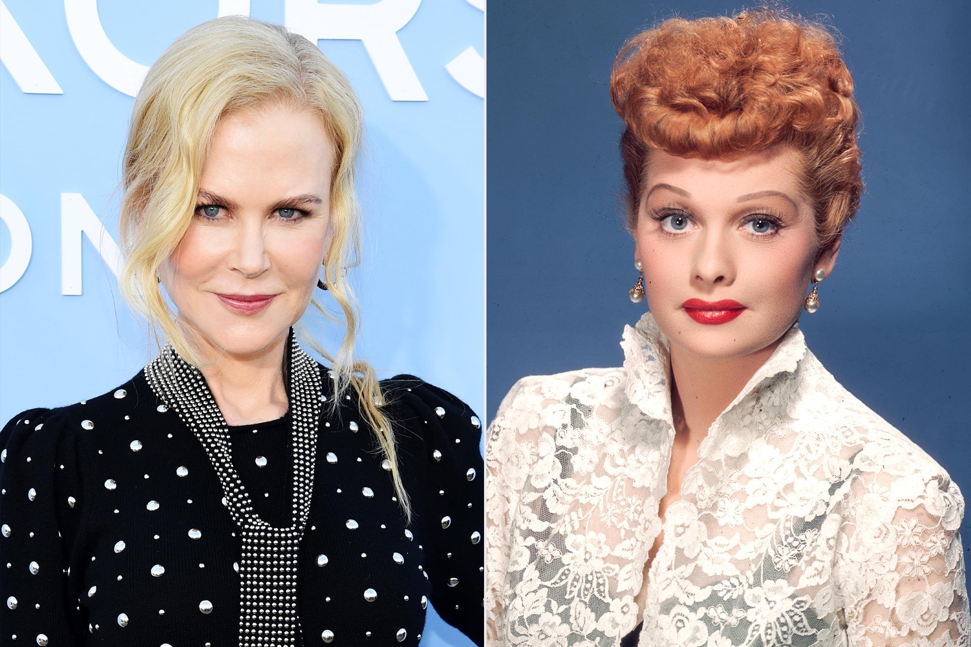 Nicole Kidman; Lucille Ball