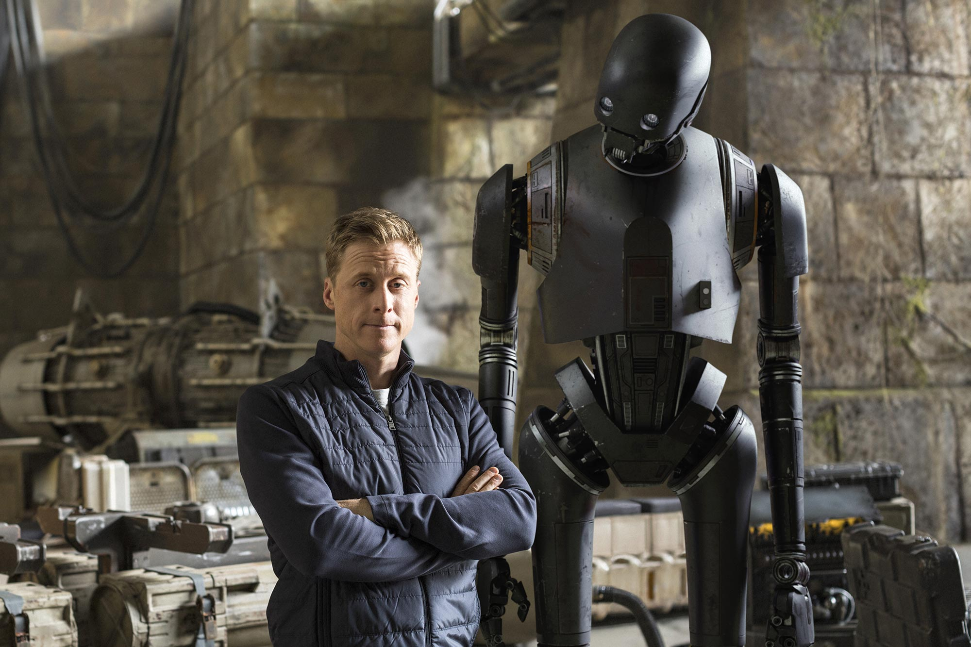 Alan Tudyk and K-2S0