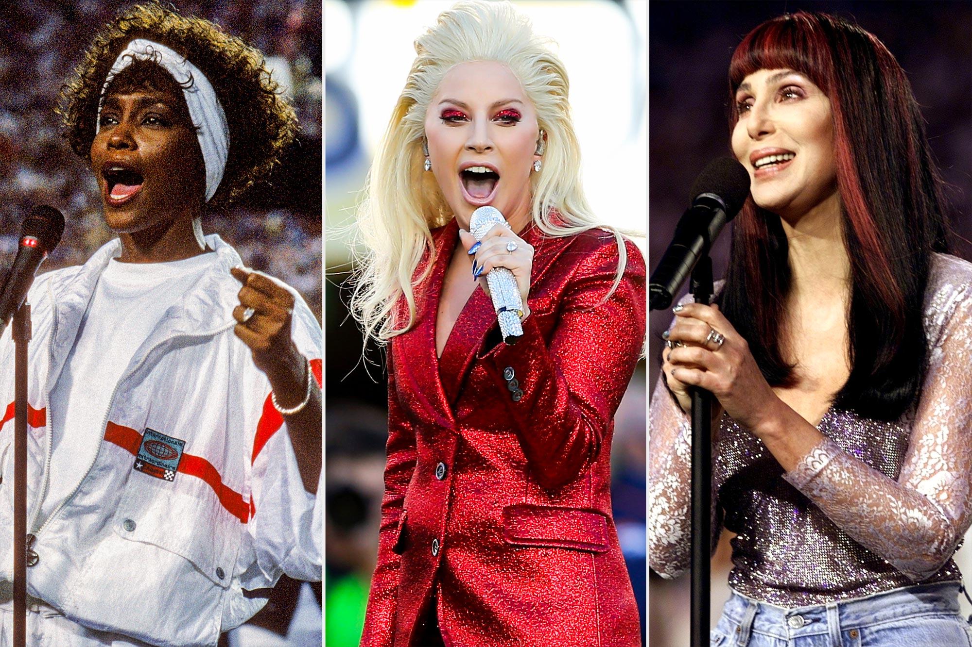 Super Bowl Anthems