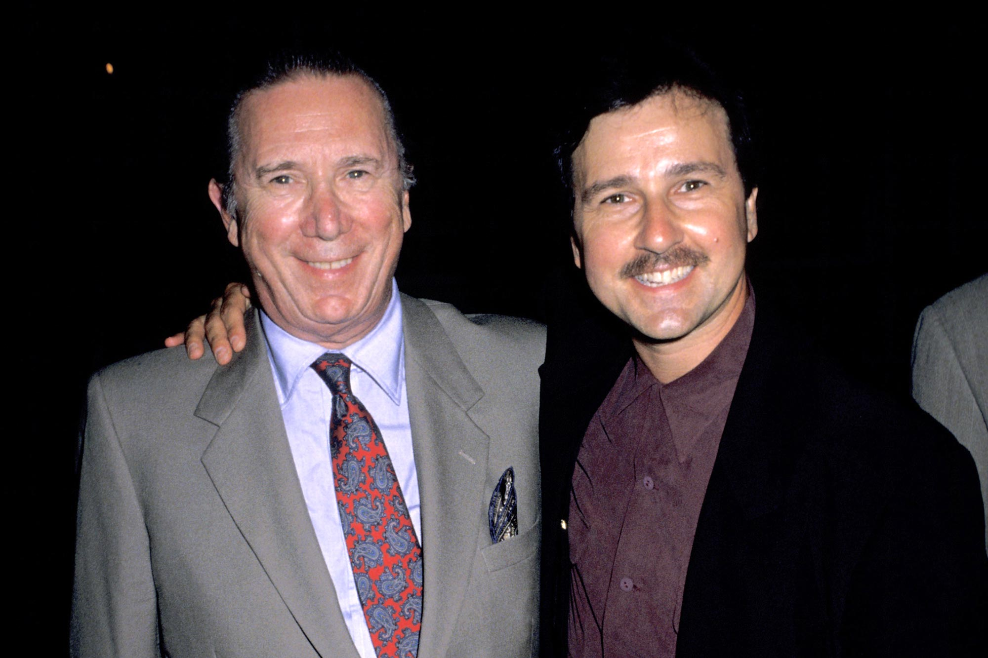 Bruno Kirby and Father Bruce Kirby