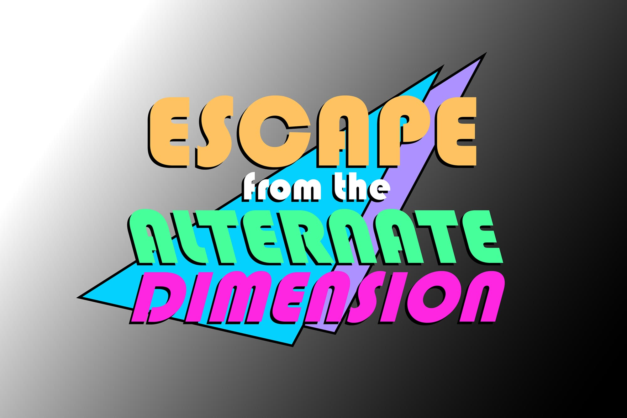 Escape from the Alternate Dimension (90's themed escape room)
