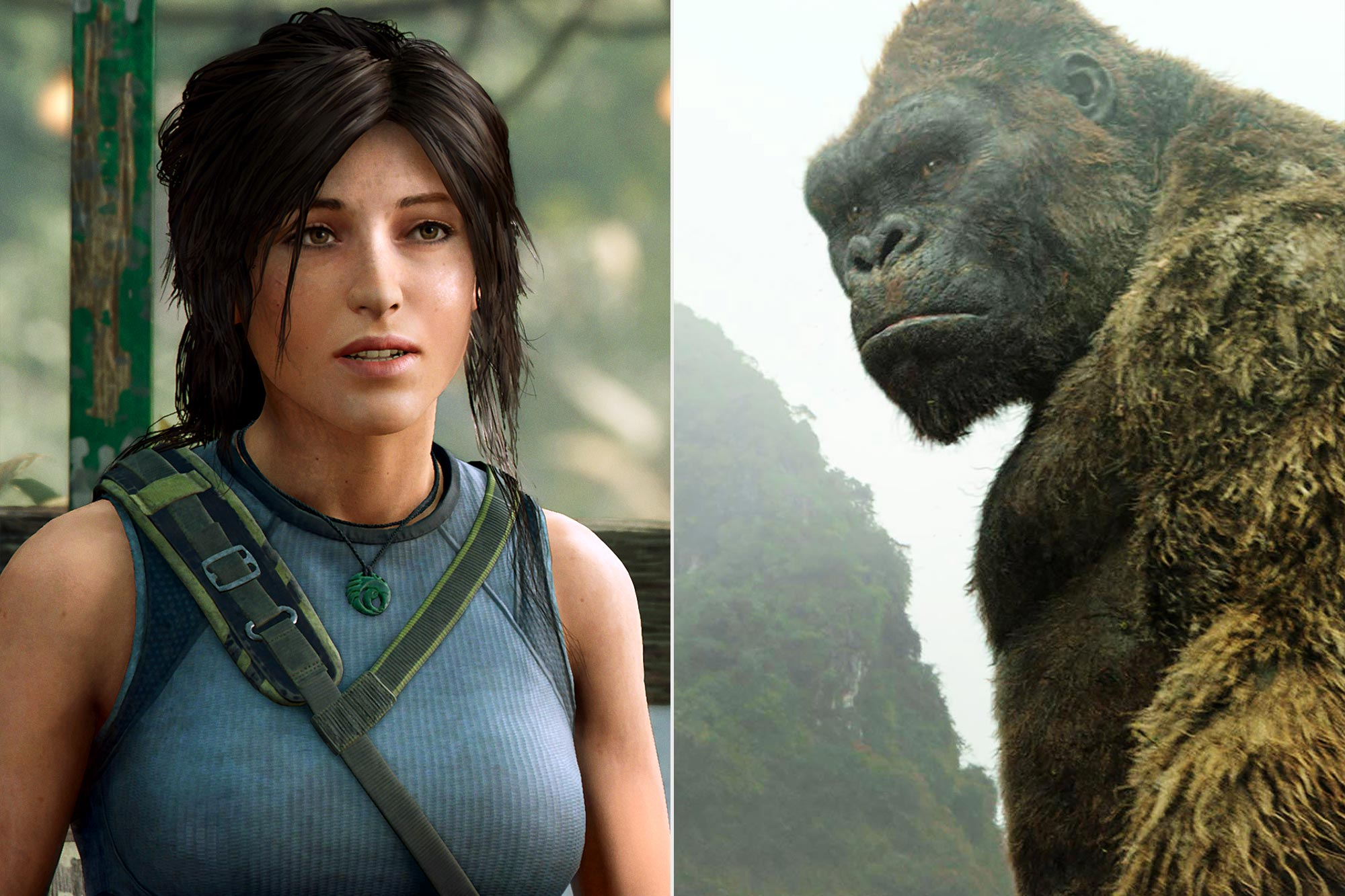 Shadow of the Tomb Raider; Kong: Skull Island