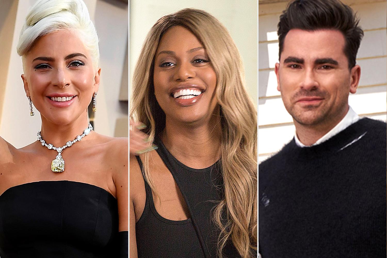 Lady Gaga; Laverne Cox; Dan Levy