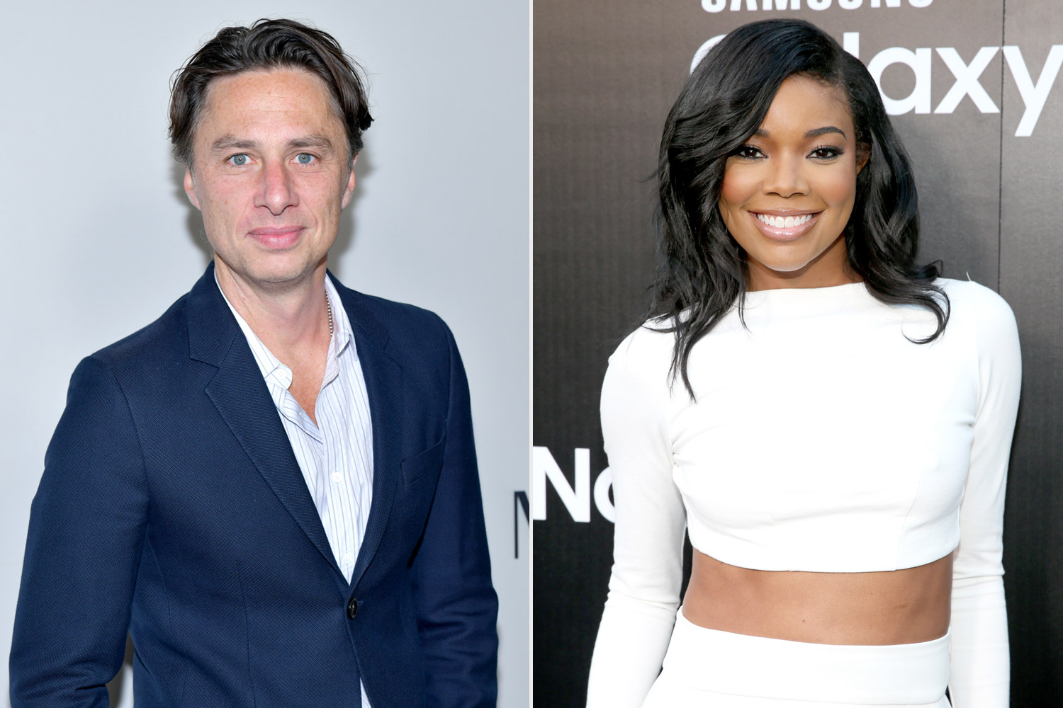 Gabrielle Union and Zach Braff