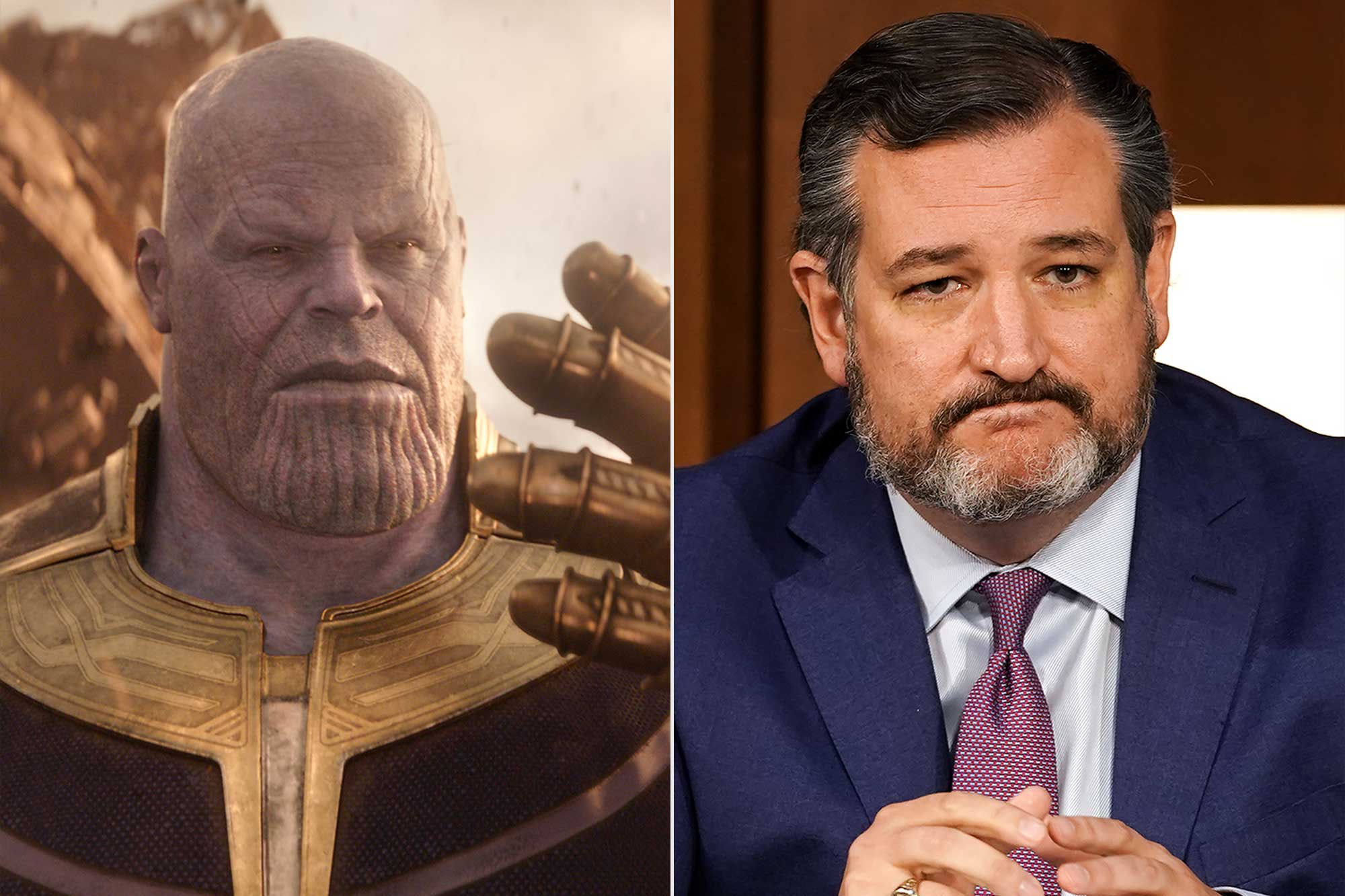 Thanos Snap; Ted Cruz