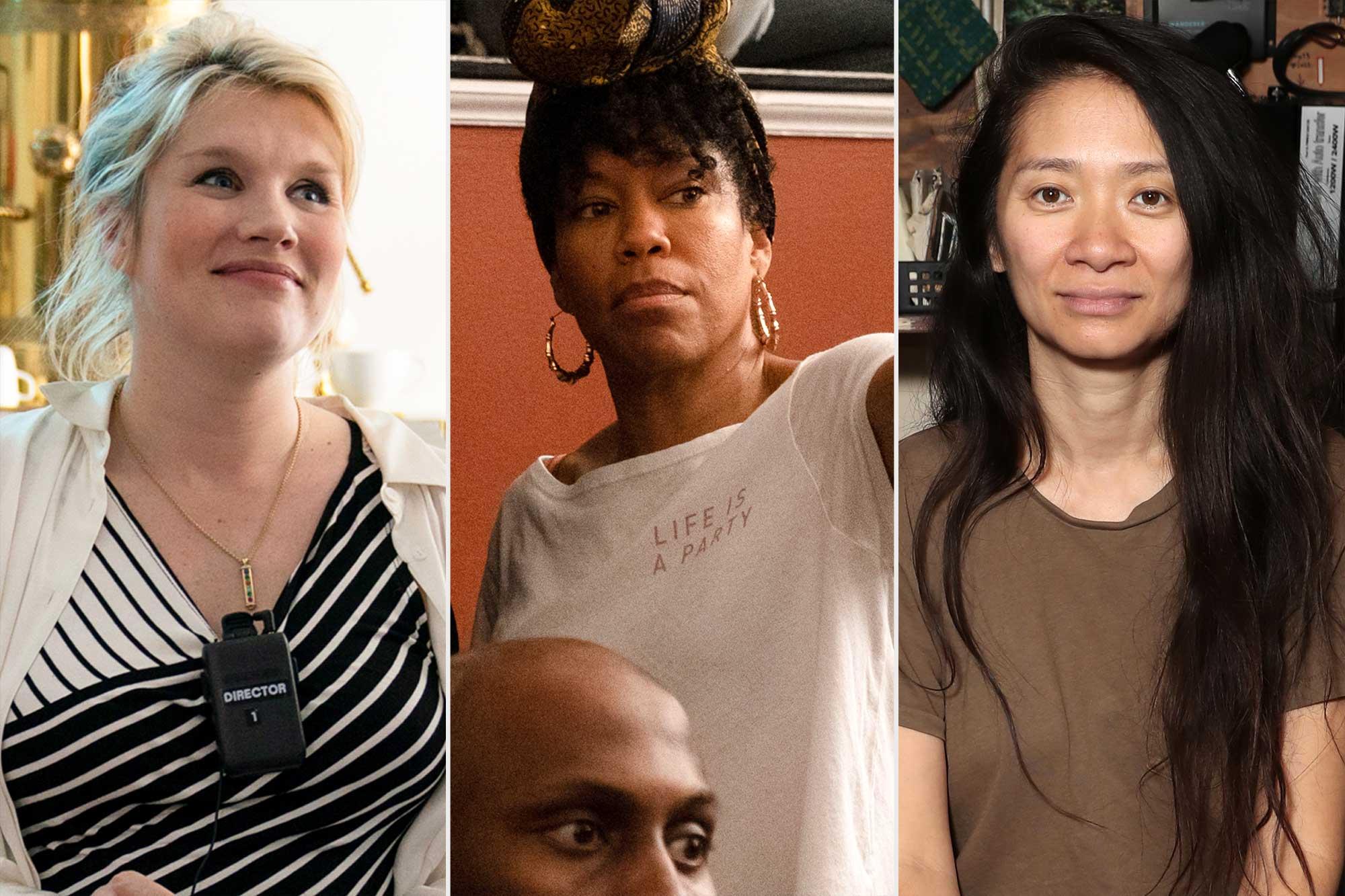 Golden Globe Directors- Emerald Fennell / Regina King / Chloe Zhao