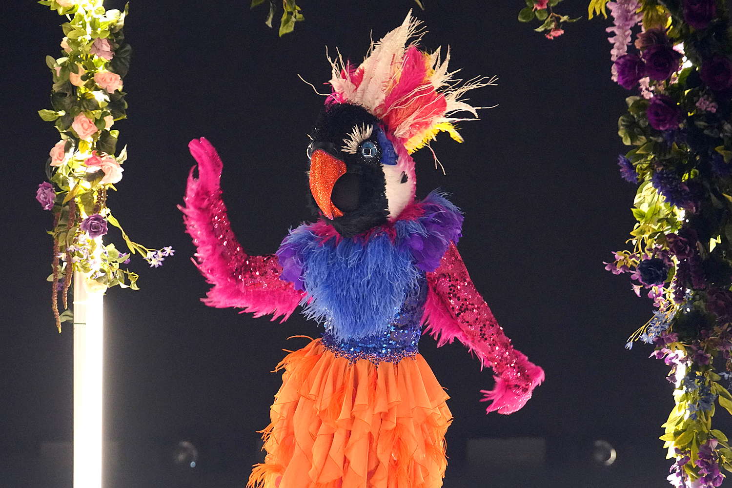 THE MASKED DANCER: Exotic Bird