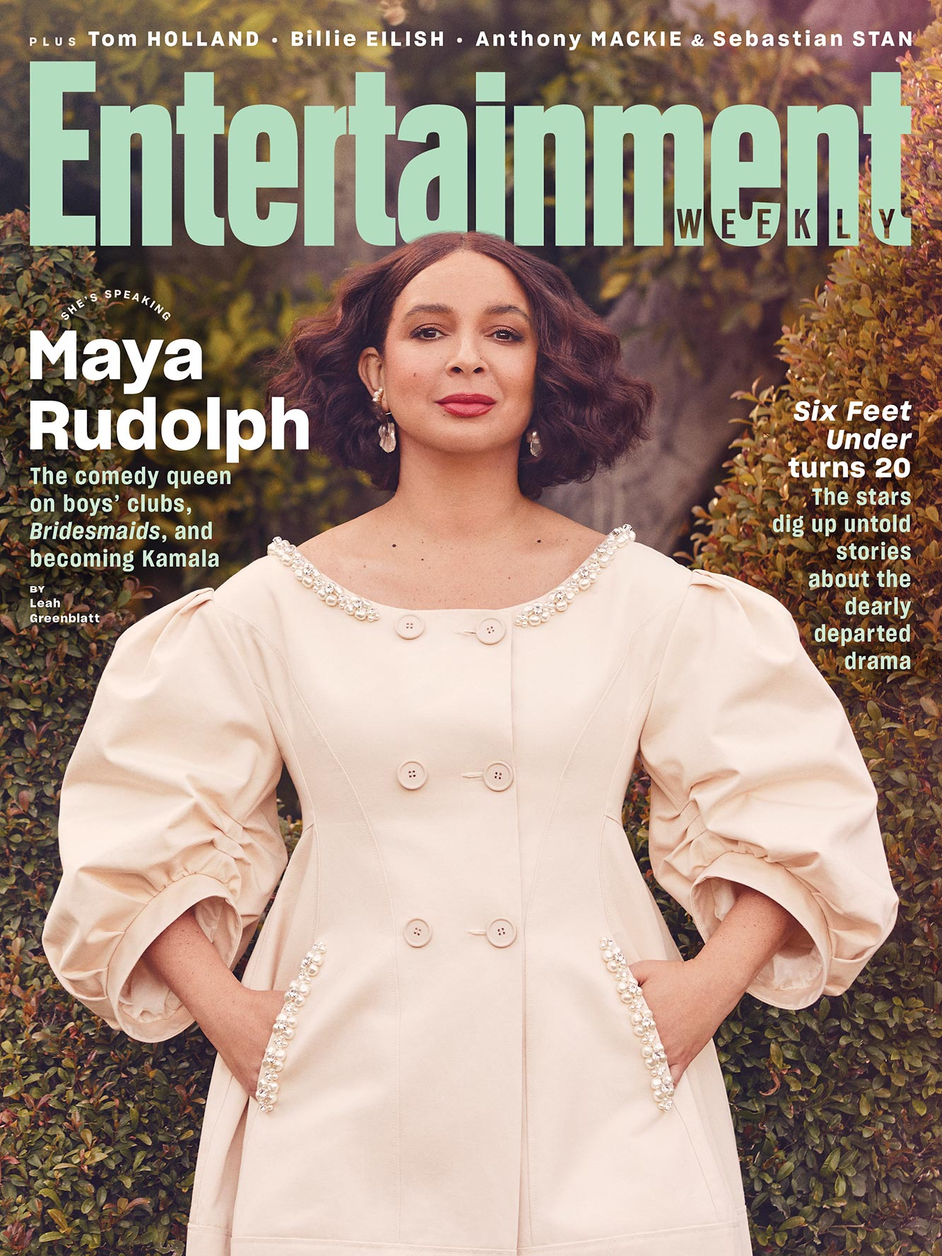 Maya Rudolph March 2021 Cover