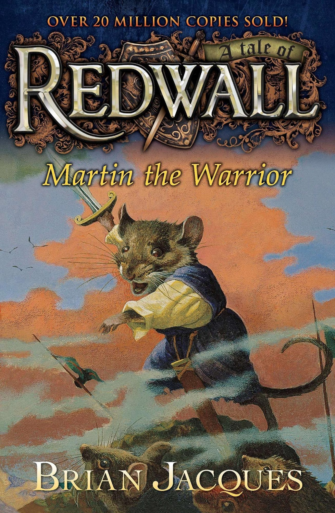 Redwall Martin the Warrior by Brian Jacques