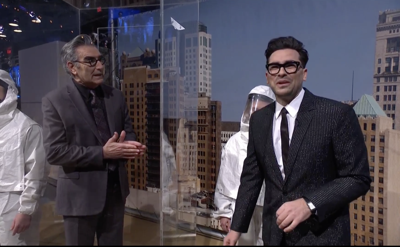 Dan and Eugene Levy on 'SNL'