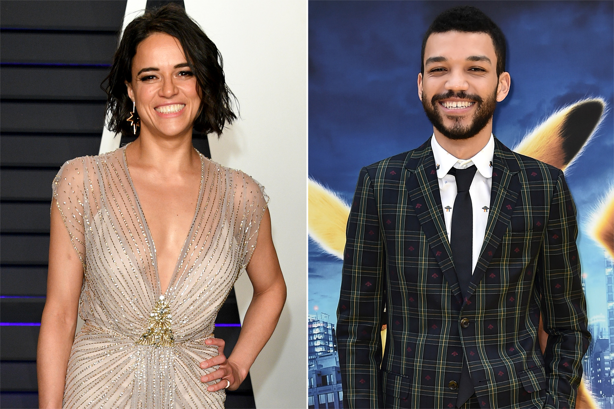Michelle Rodriguez, Justice Smith