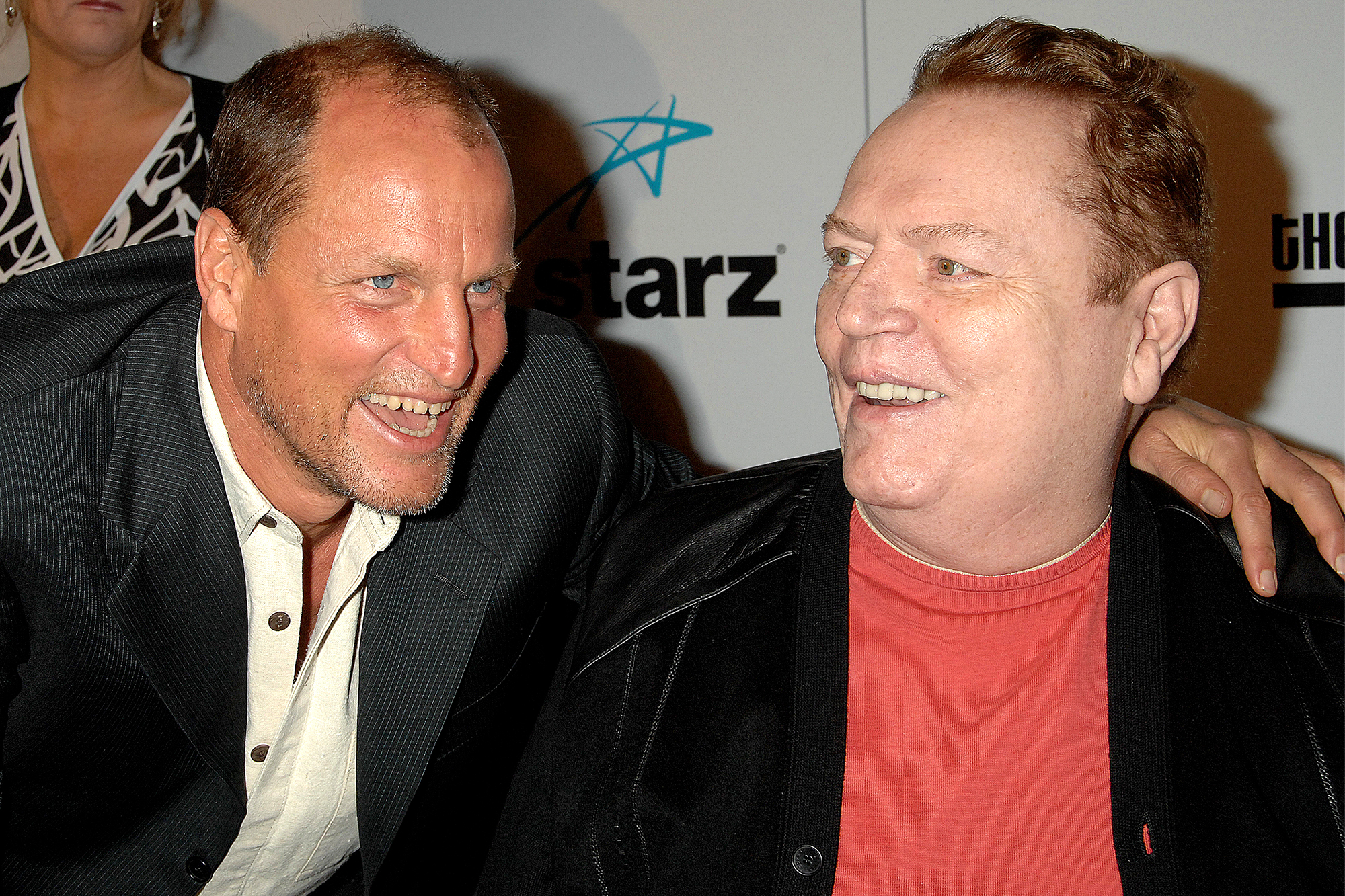 Woody Harrelson and Larry Flynt