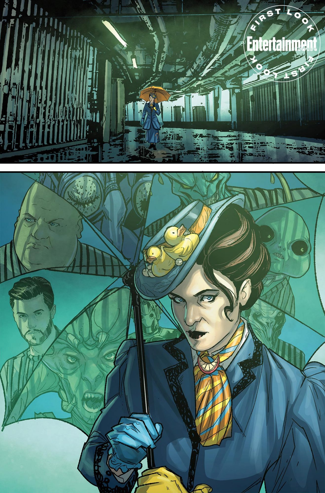 Doctor Who comic Missy #1