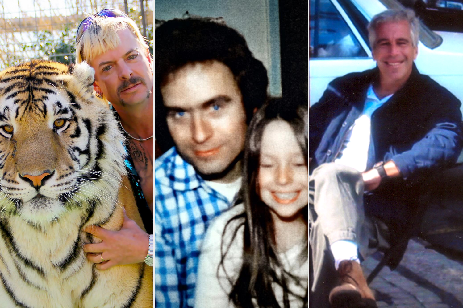 Tiger King; Ted Bundy: Falling for a Killer; FILTHY RICH