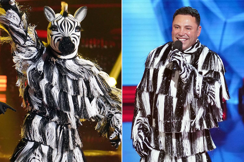 THE MASKED DANCER: Zebra; Oscar De La Hoya