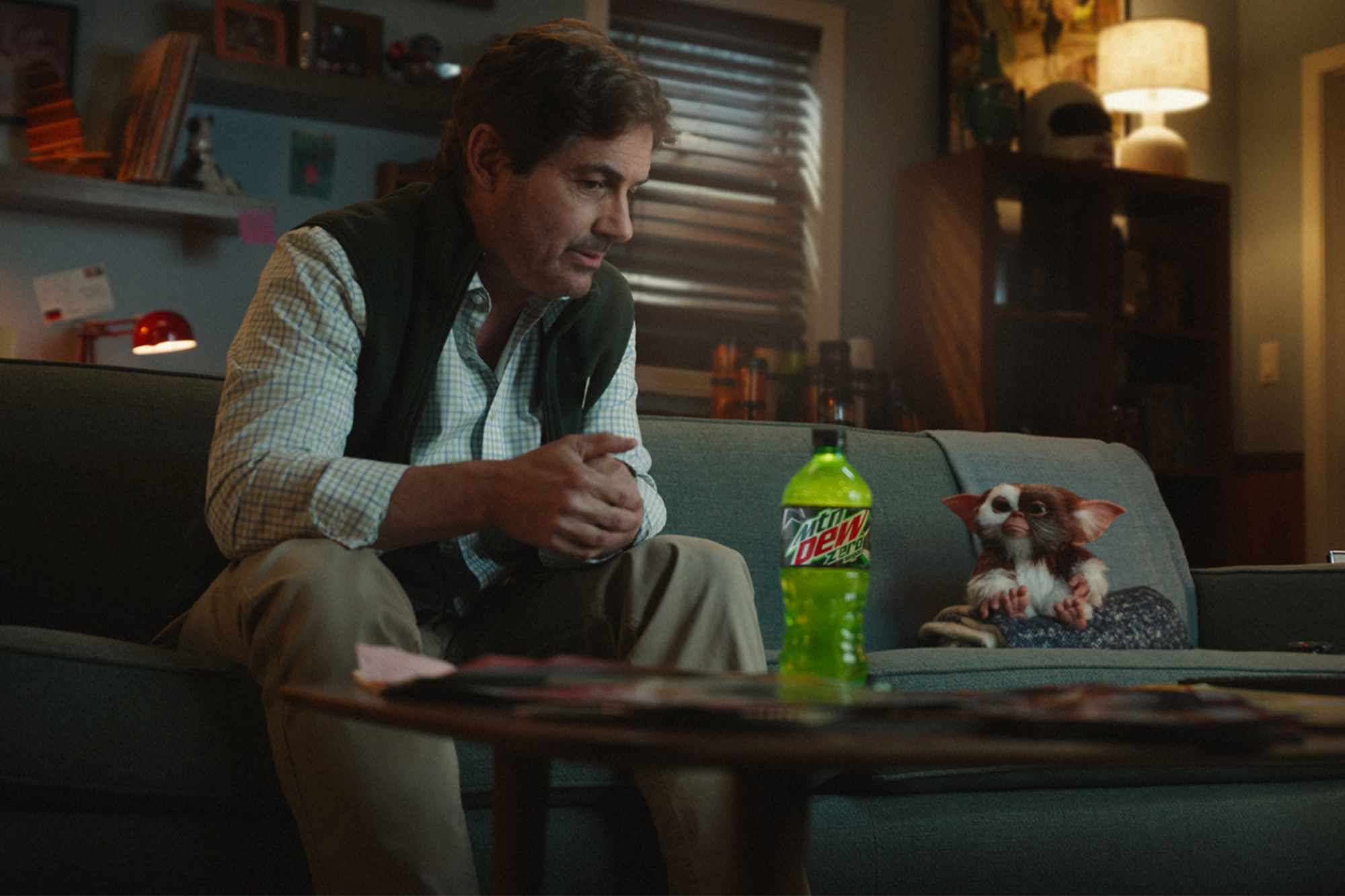 Zach Galligan and Gizmo Mountain Dew commercial
