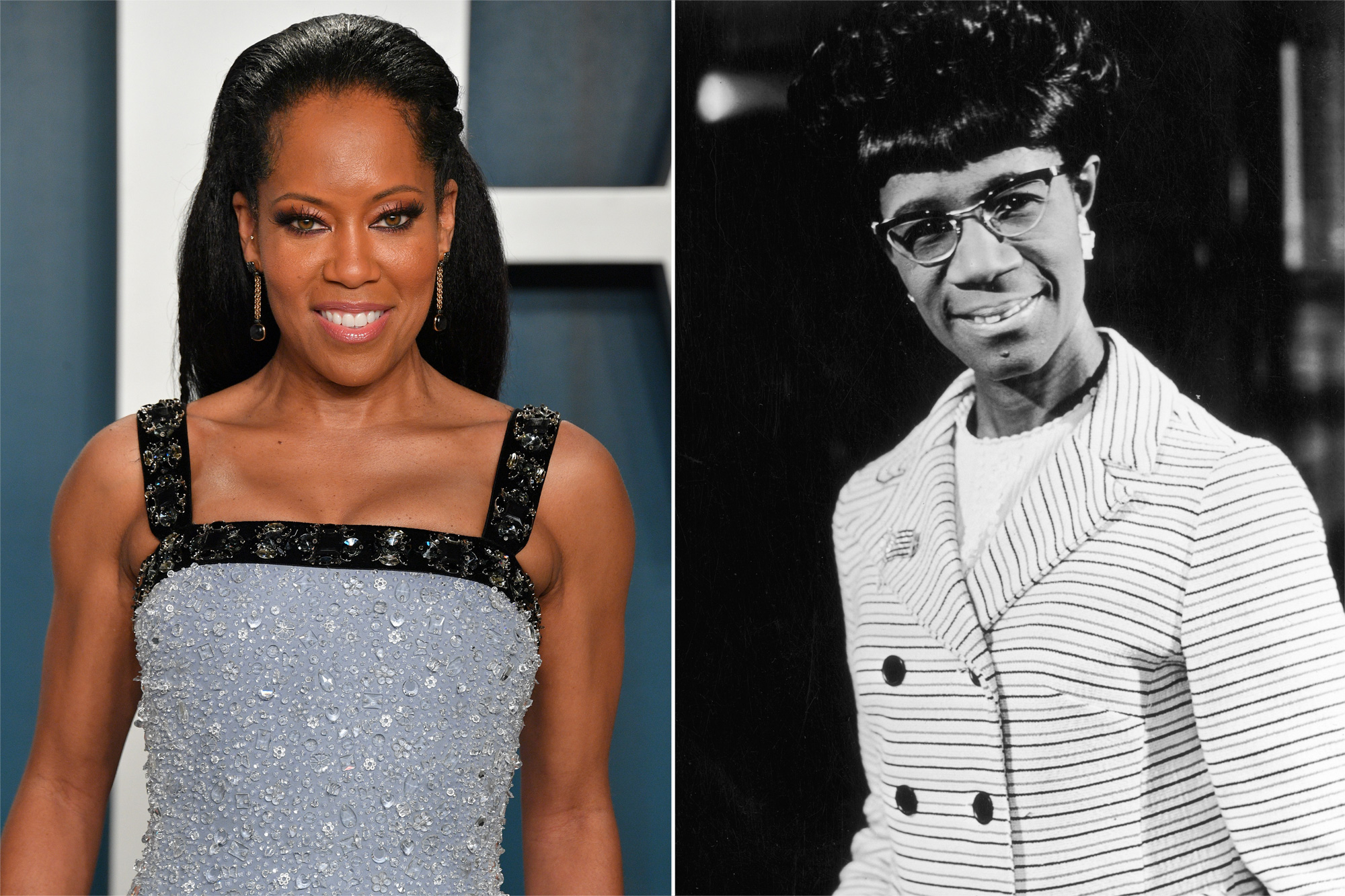 Regina King, Shirley Chisholm