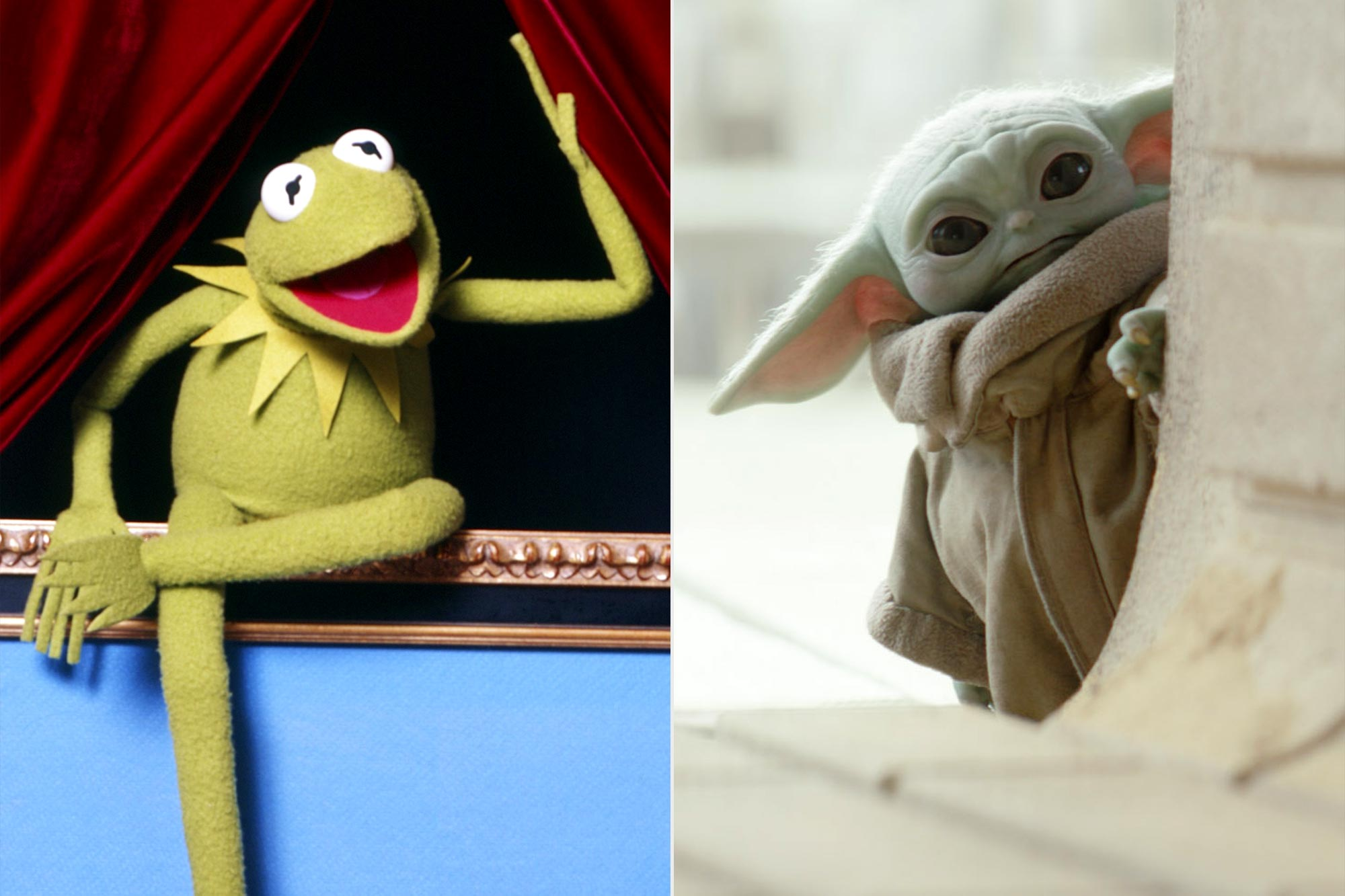 Kermit the Frog; Baby Yoda