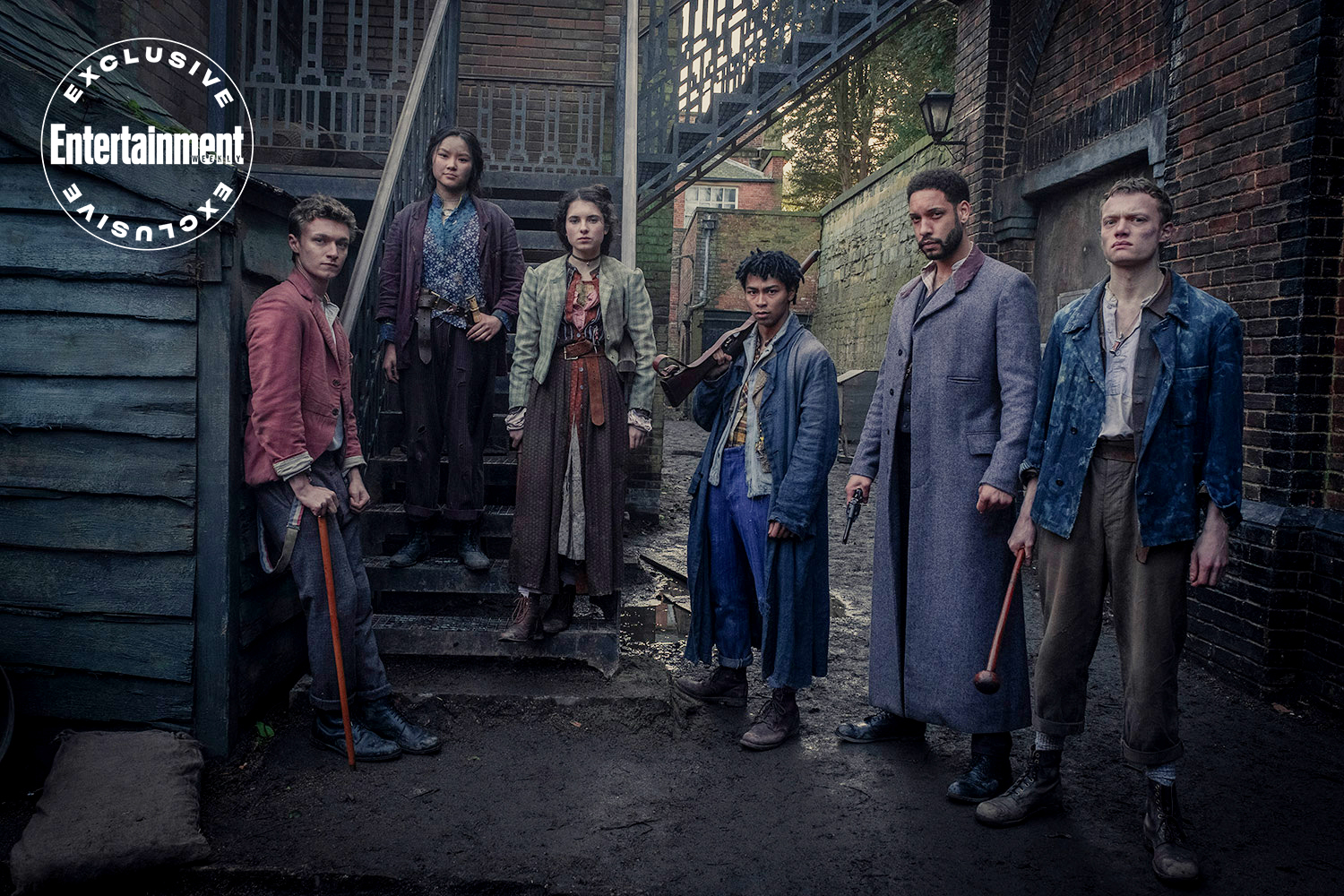 Netflix's The Irregulars first look: Sherlock Holmes gets a supernatural  twist - Exciting New Webseries Releasing In March 2021
