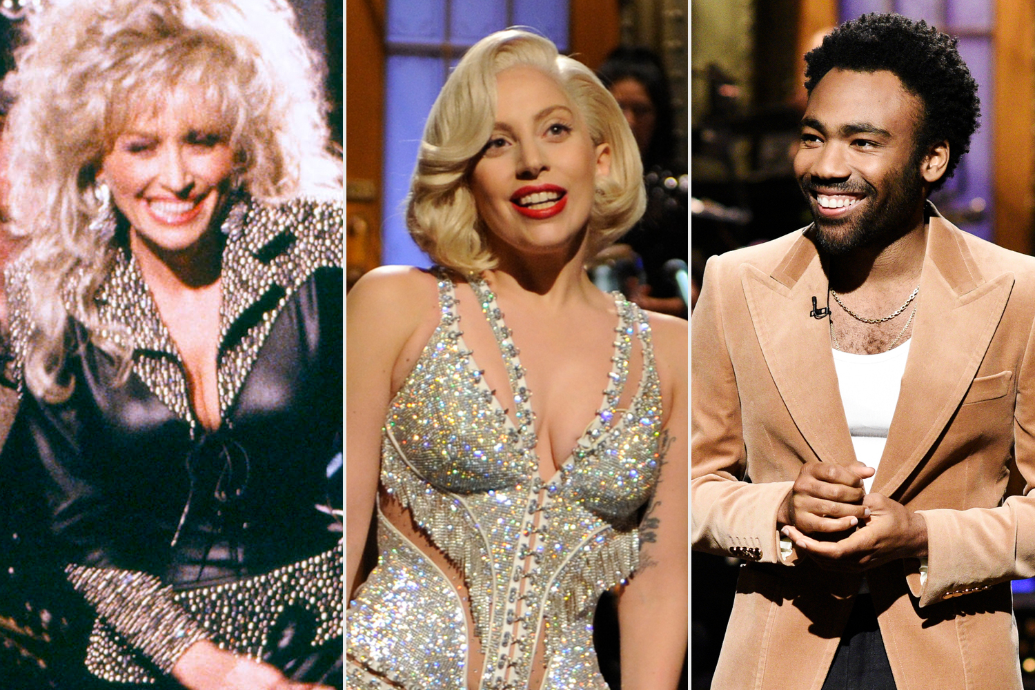 Dolly Parton, Lady Gaga, Donald Glover