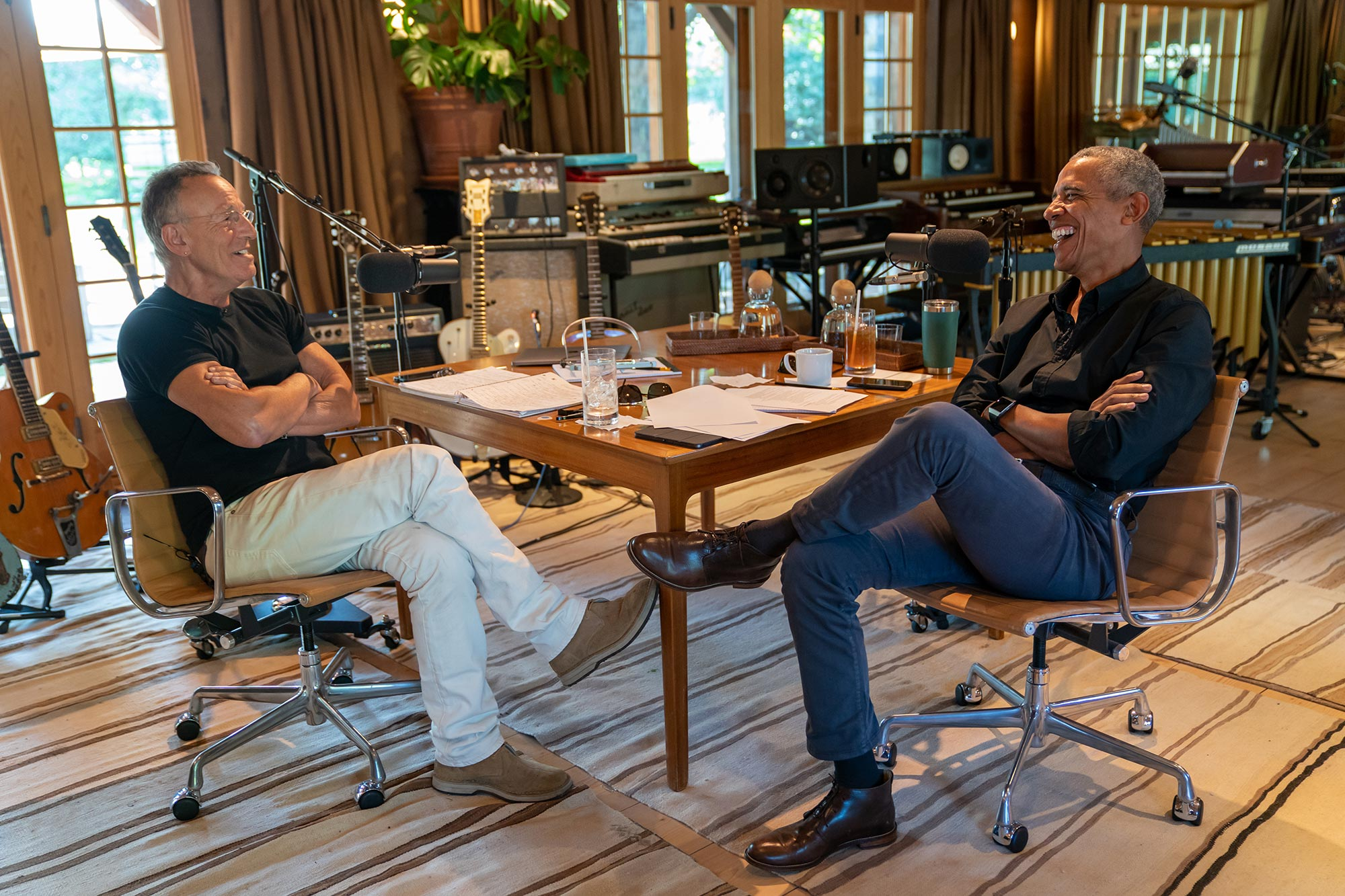 Renegades: Born in the USA Bruce Springsteen and Barack Obama podcast