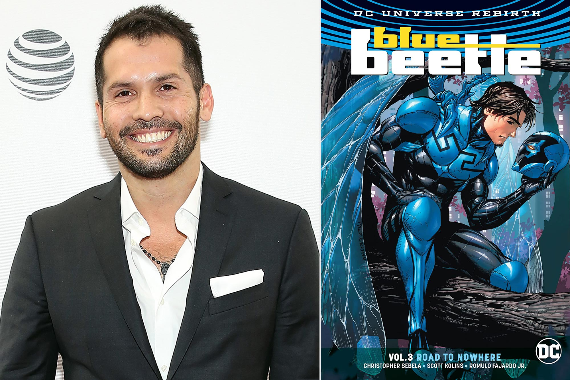 Angel Manuel Soto; Blue Beetle