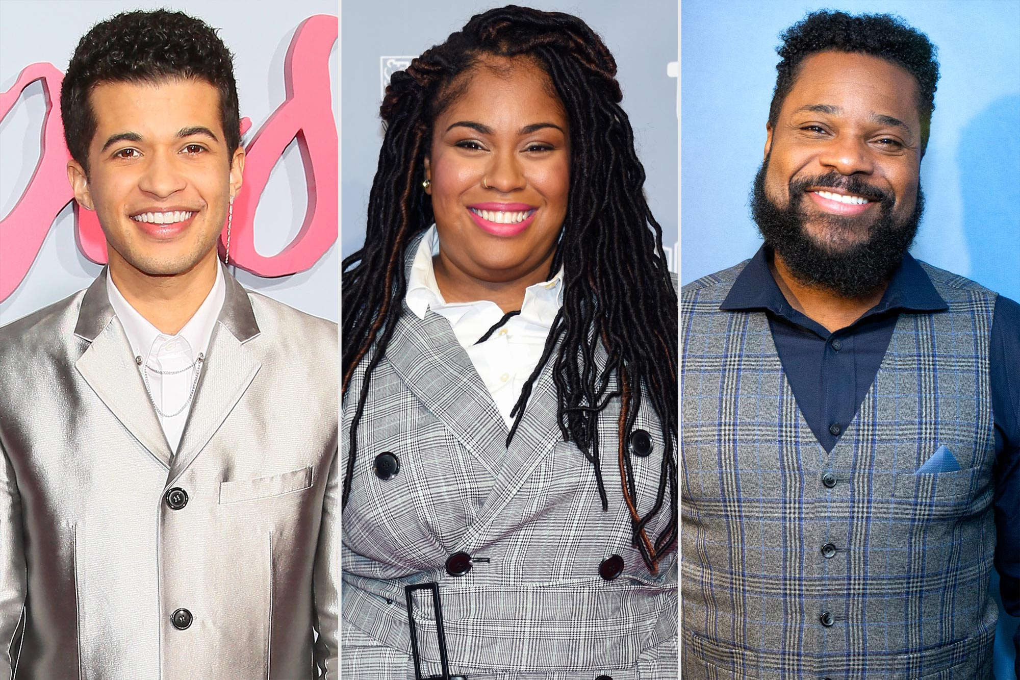 Jordan Fisher, Angie Thomas, and Malcolm-Jamal Warner
