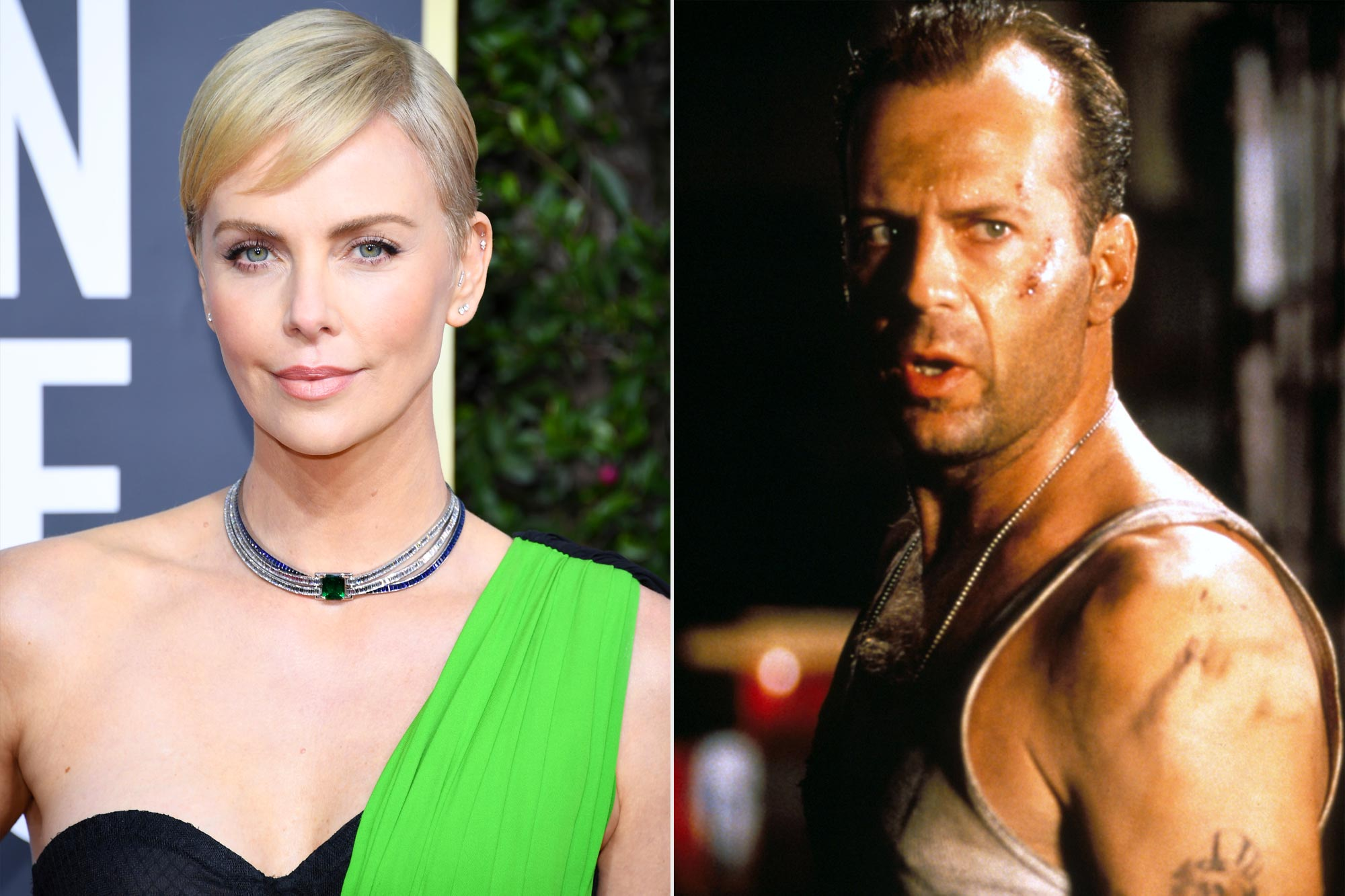 Charlize Theron; Die Hard