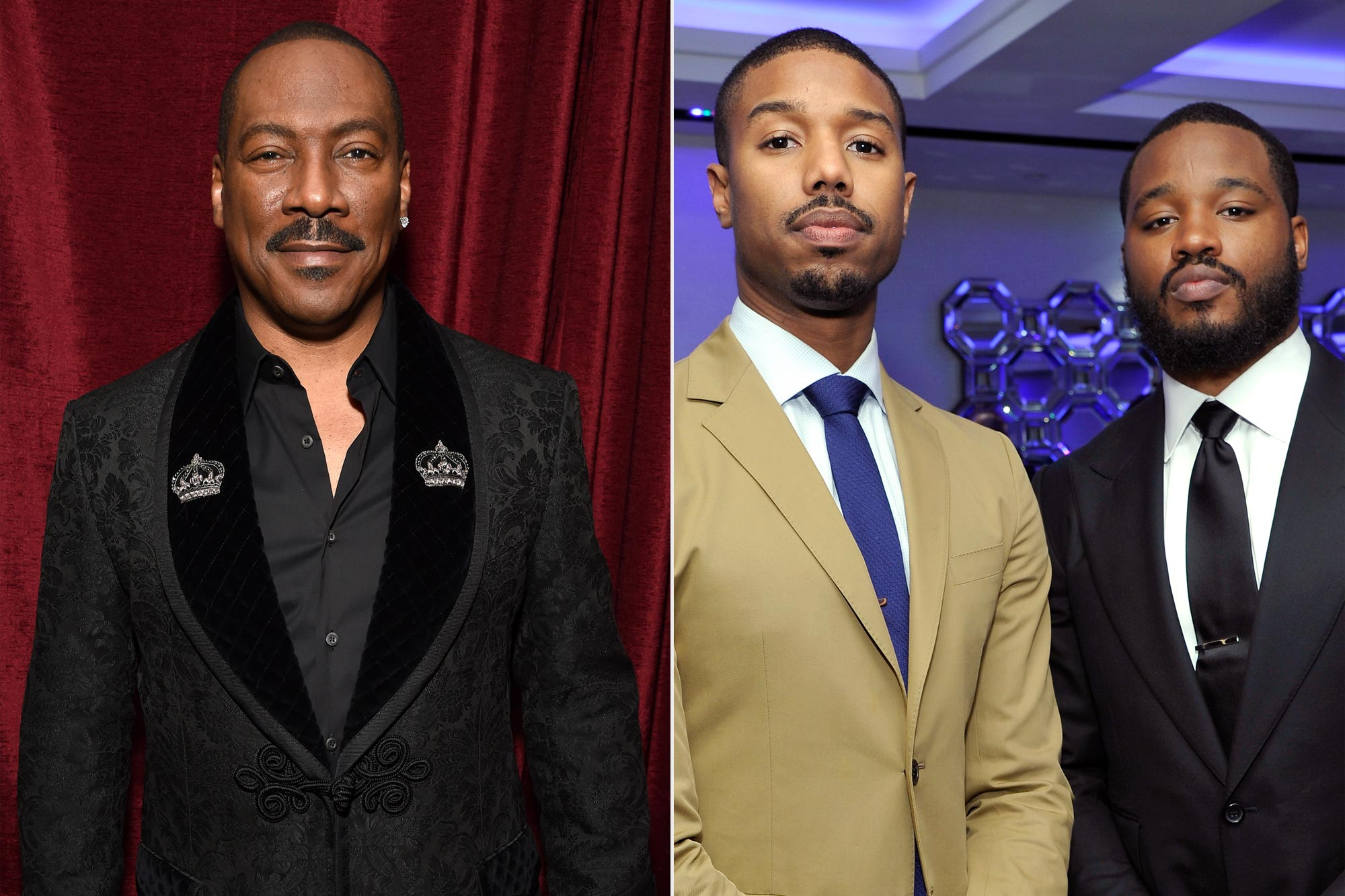 Eddie Murphy; Michael B. Jordan and Director Ryan Coogler