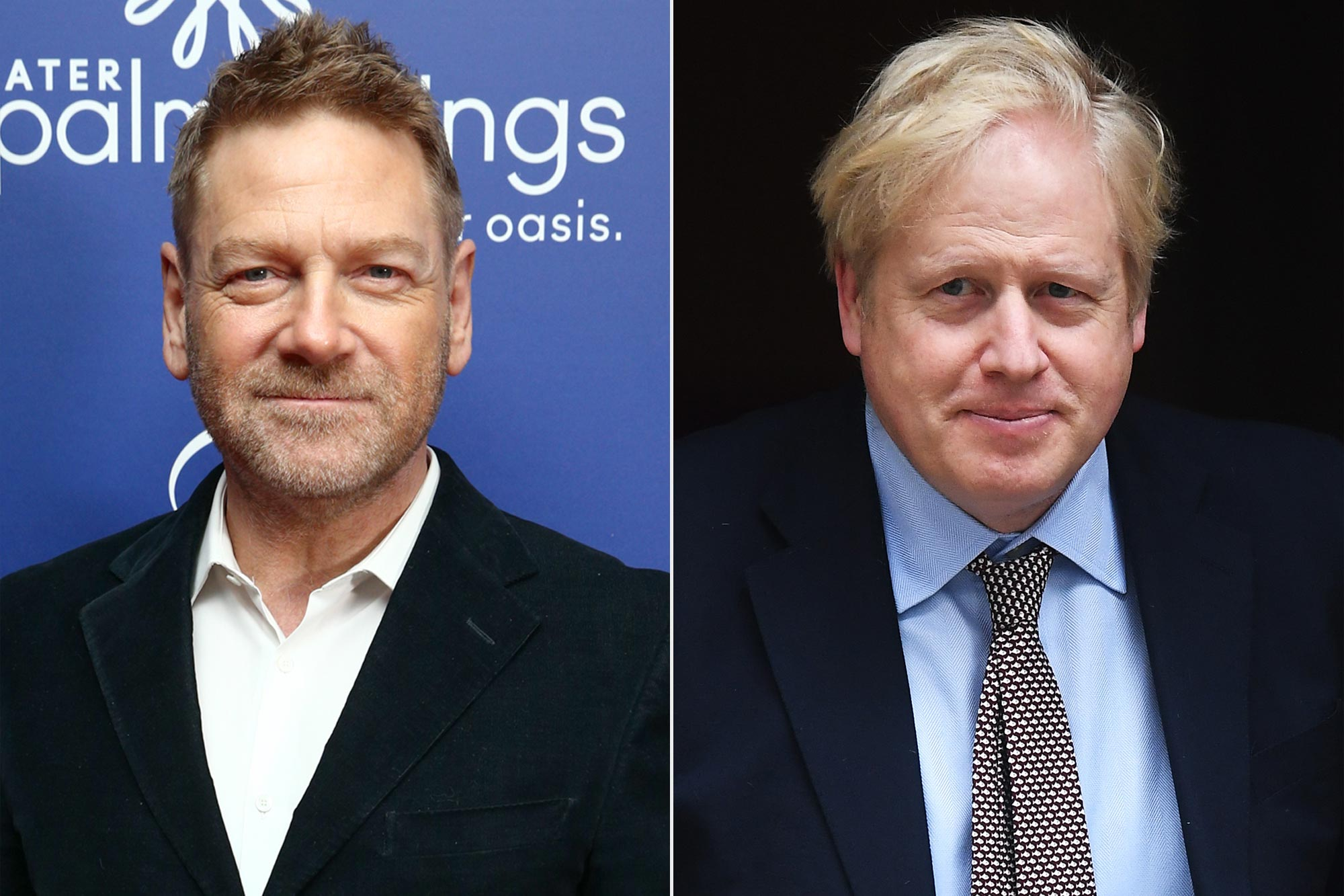 Kenneth Branagh; Boris Johnson