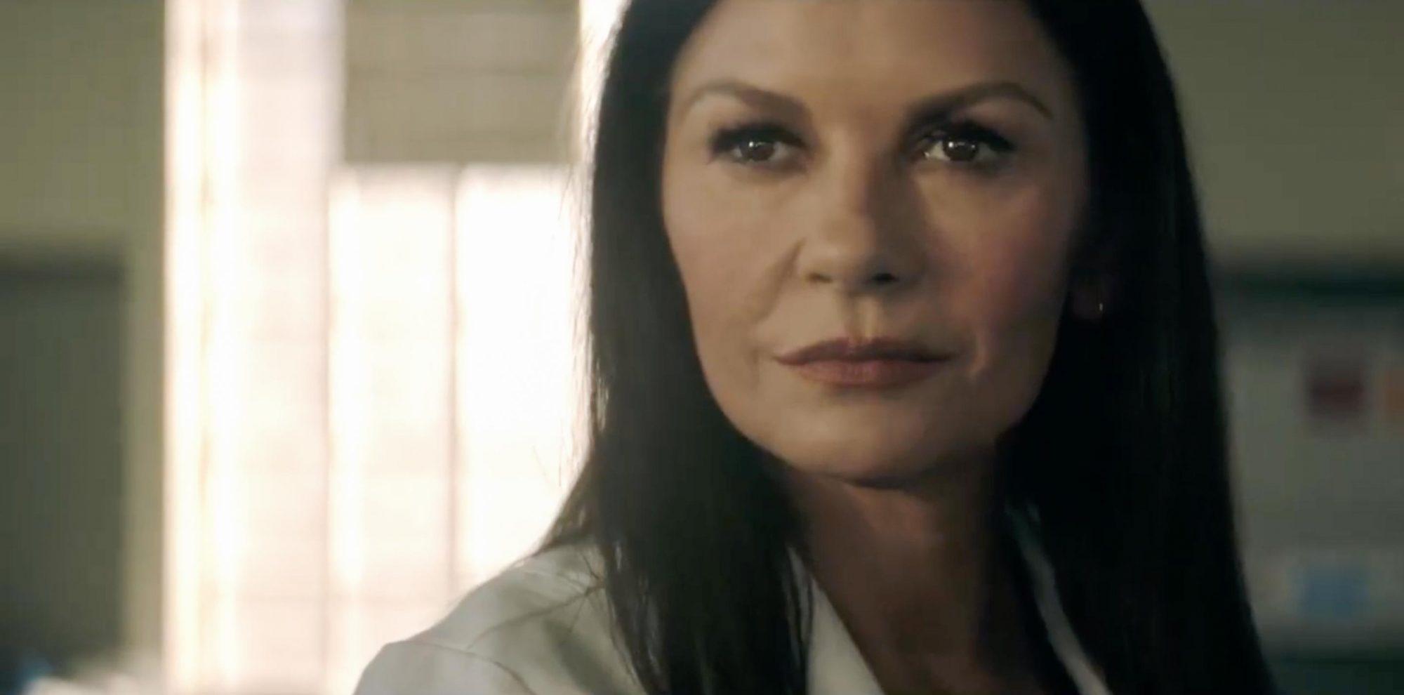 Watch Catherine Zeta-Jones take on Michael Sheen in exclusive Prodigal Son