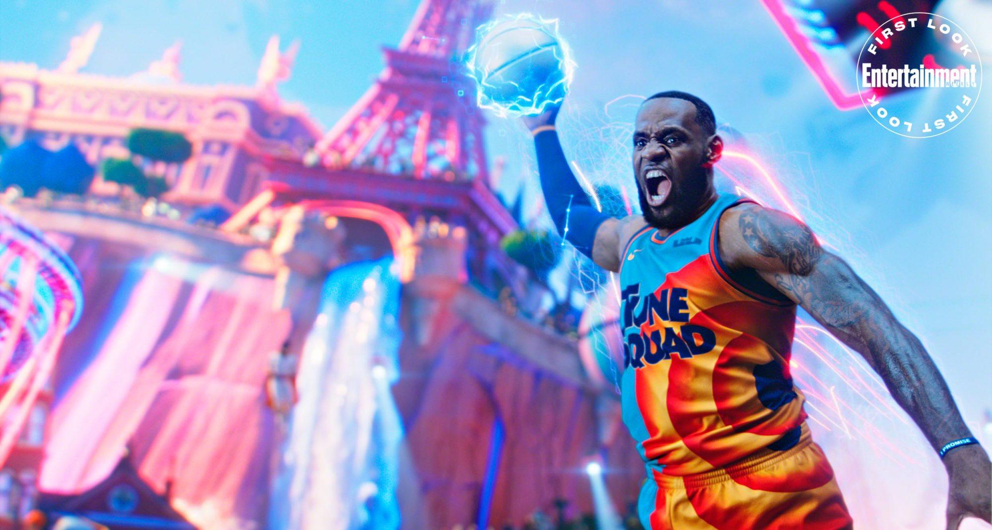 LeBron James on Space Jam: A New Legacy, Michael Jordan | EW.com