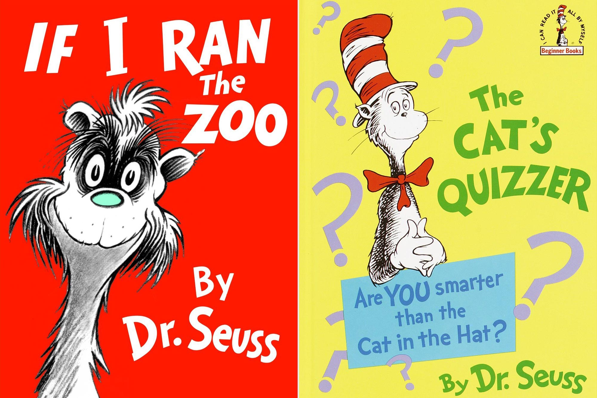 If I Ran The Zoo; The Cat's Quizzer