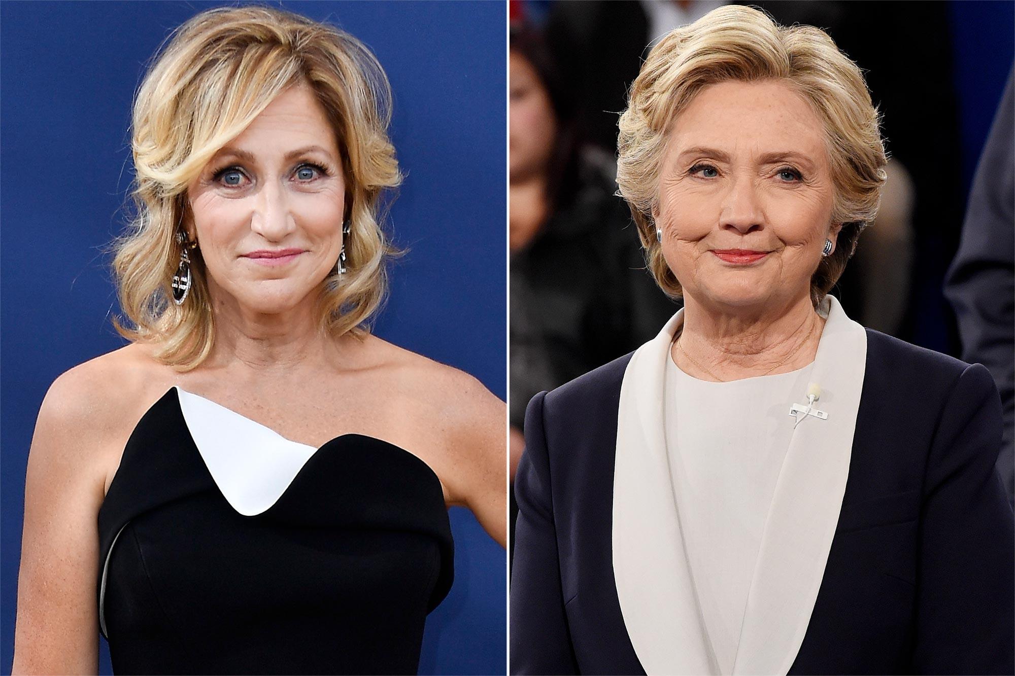 Edie Falco, Hillary Clinton