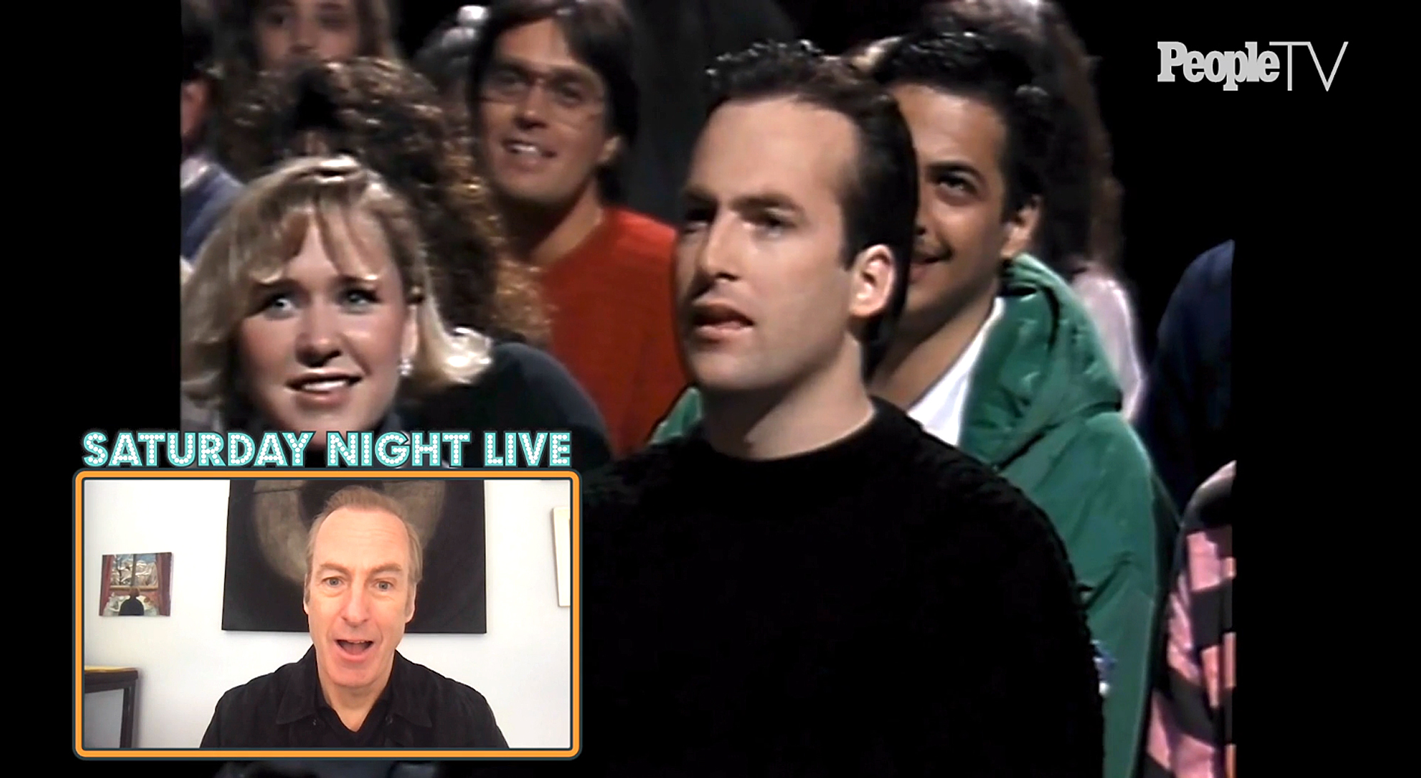 PeopleTV couch surfing with Bob Odenkirk