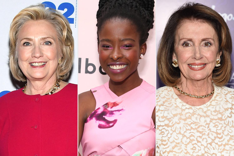 Clinton,Amanda Gorman,Nancy Pelosi