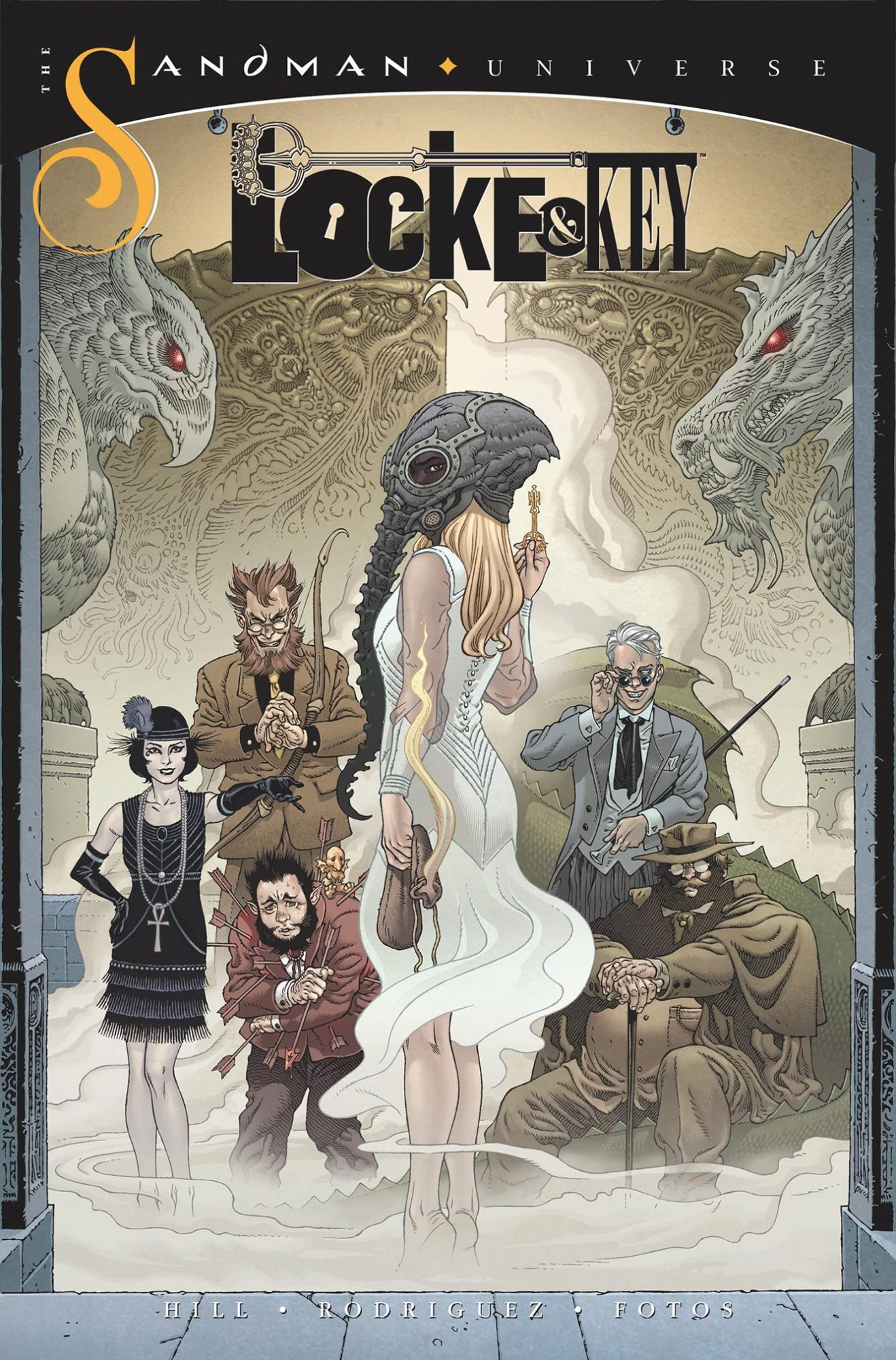 The Sandman/Locke and Key comic crossover