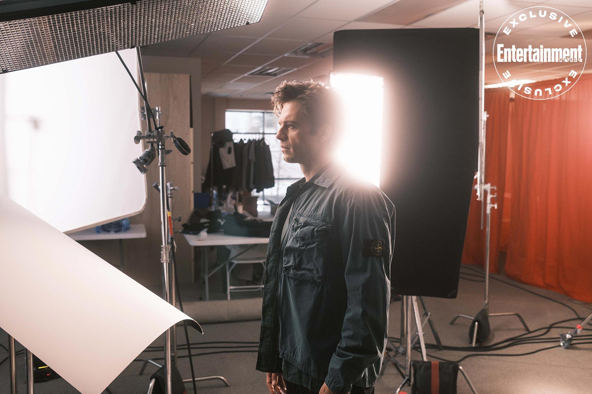 Behind the scenes of Sebastian Stan