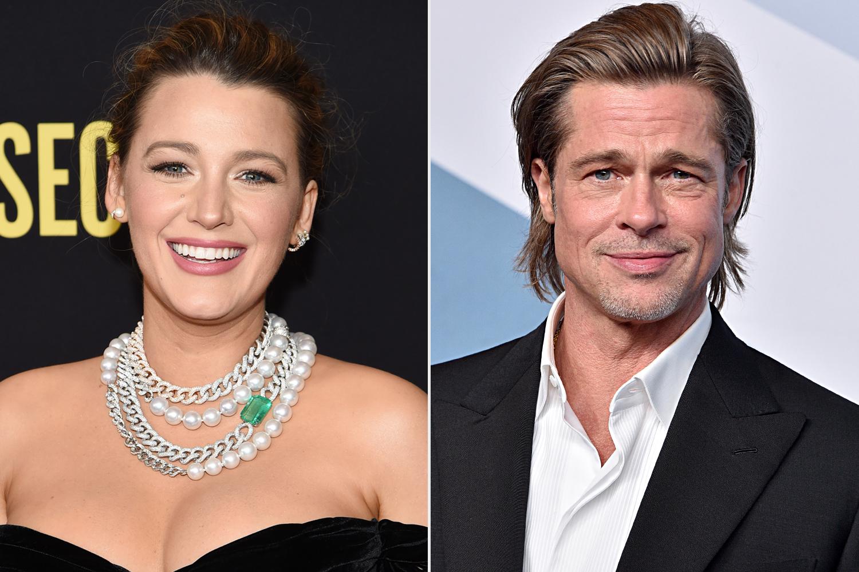 Blake Lively, Brad Pitt