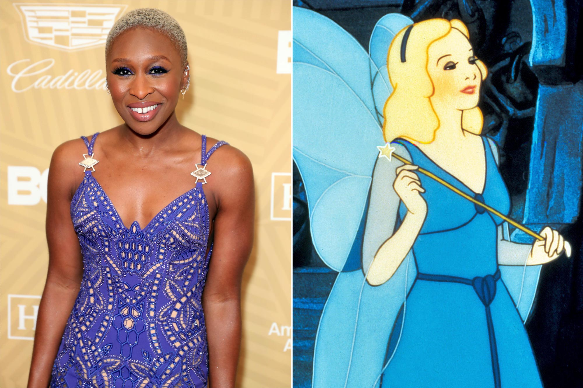Cynthia Erivo as The Blue Fairy
