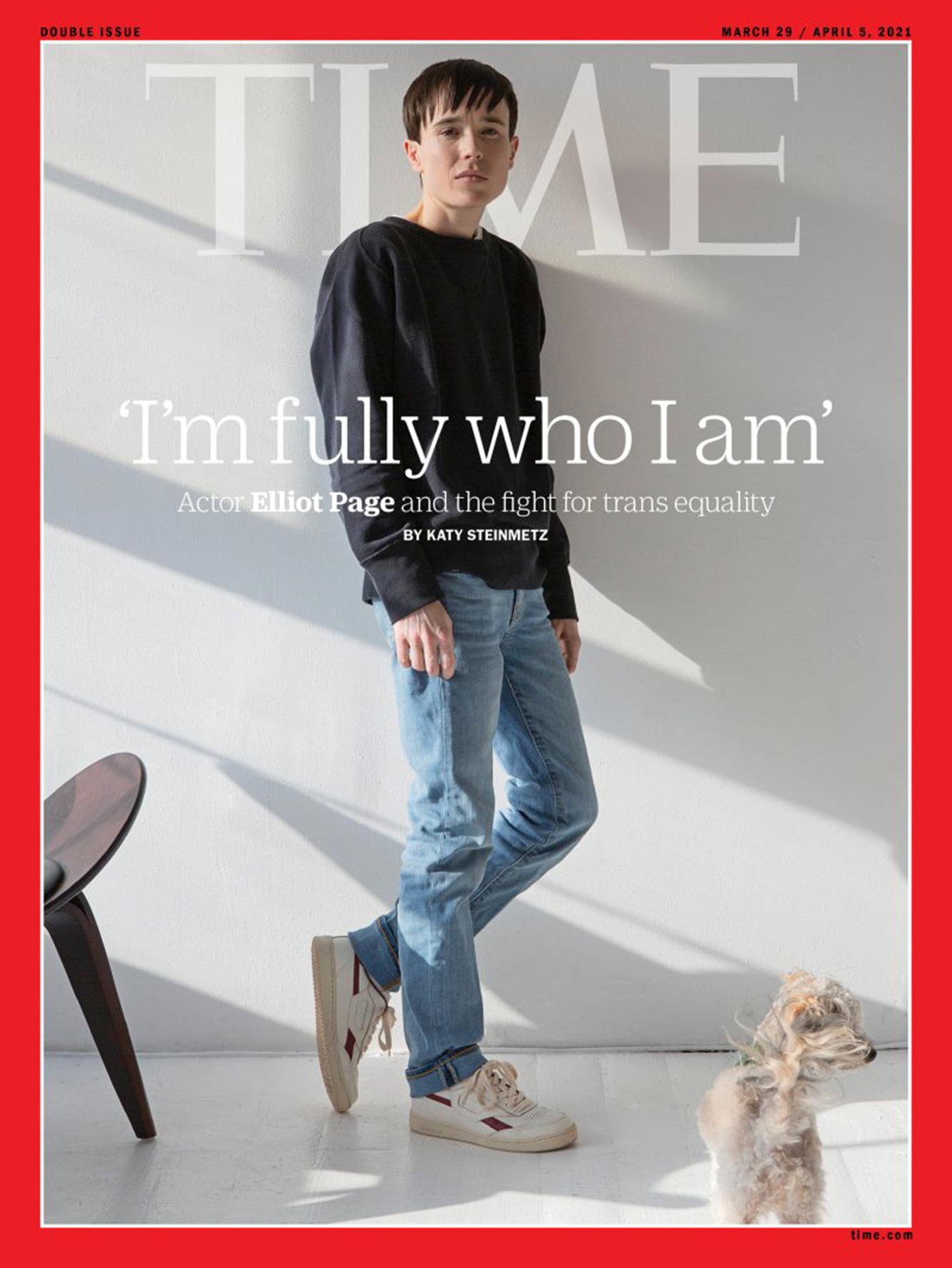 Elliot Page Time Cover