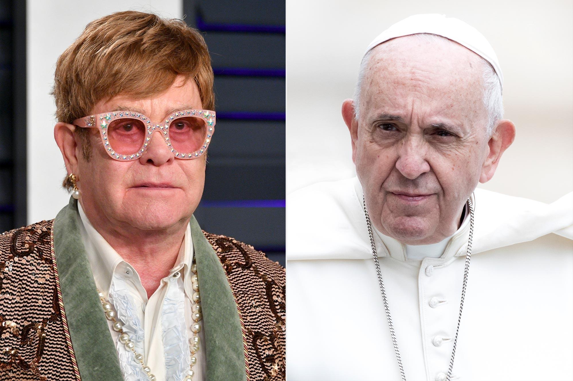 Elton John; Pope Francis