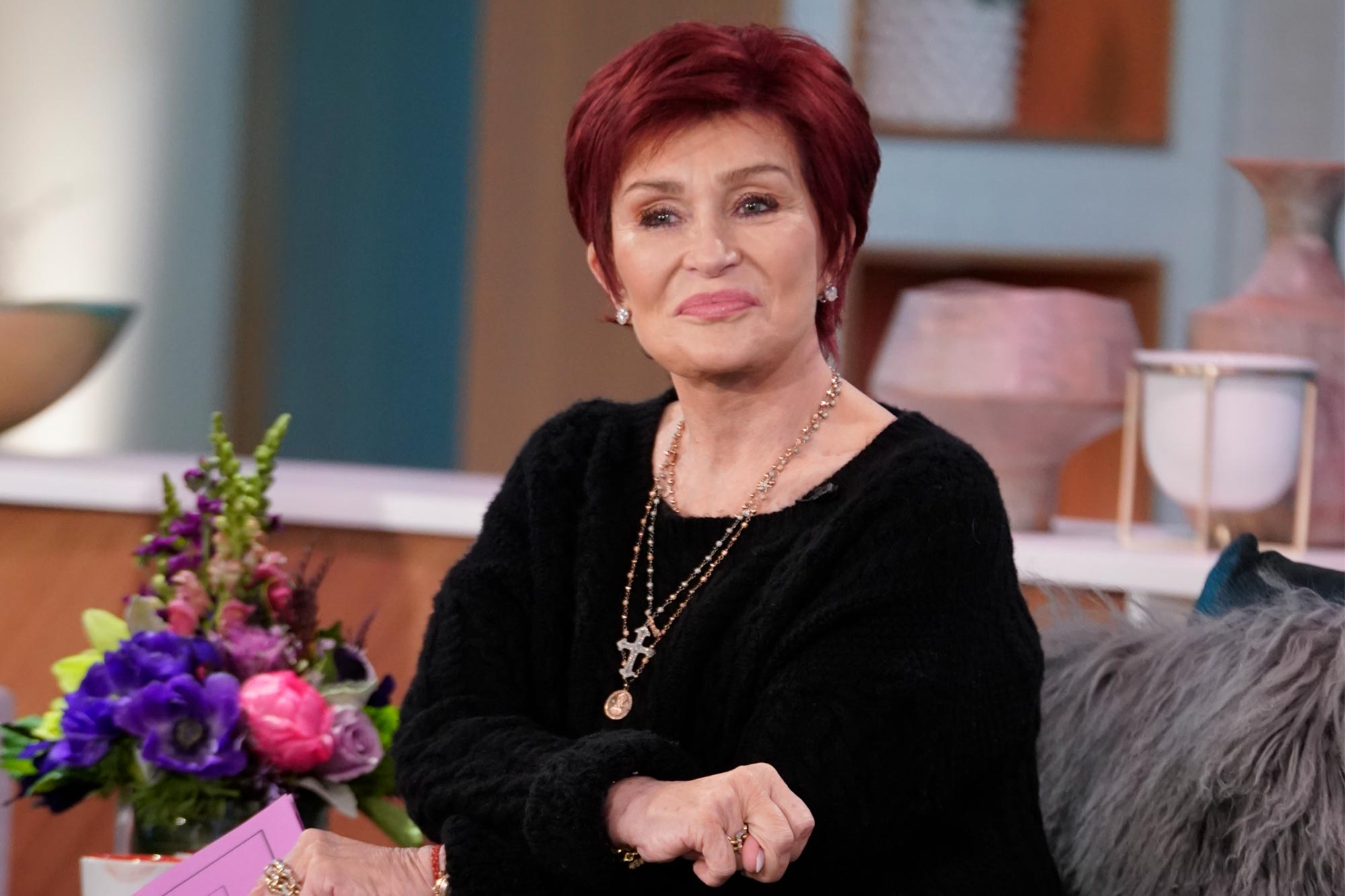 Sharon Osbourne Is Leaving The Talk Ew Com
