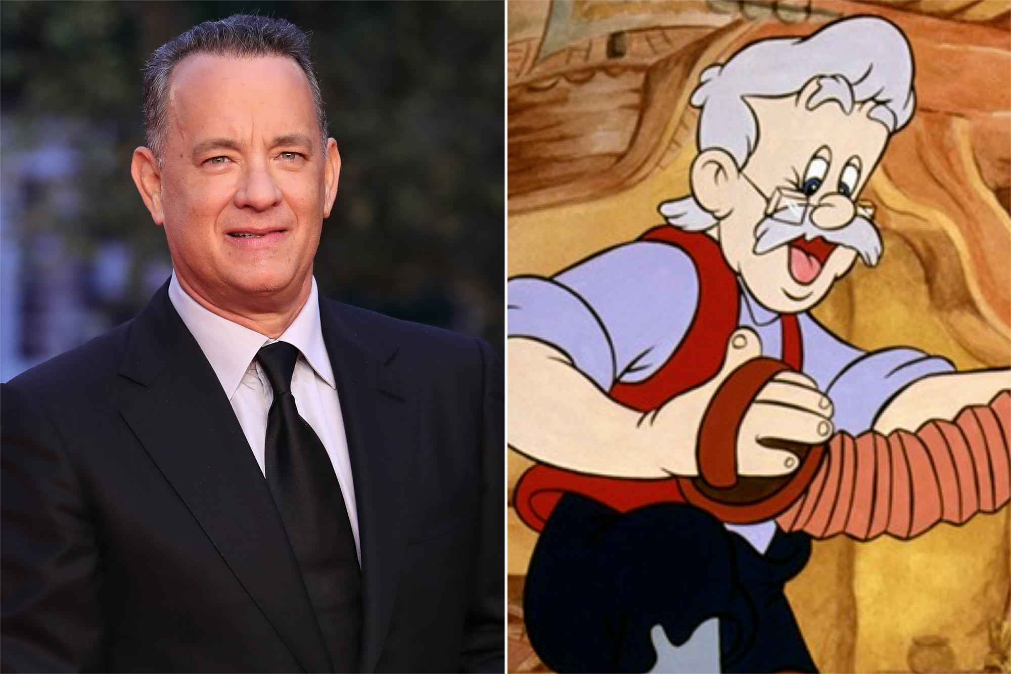 Tom Hanks as Geppetto