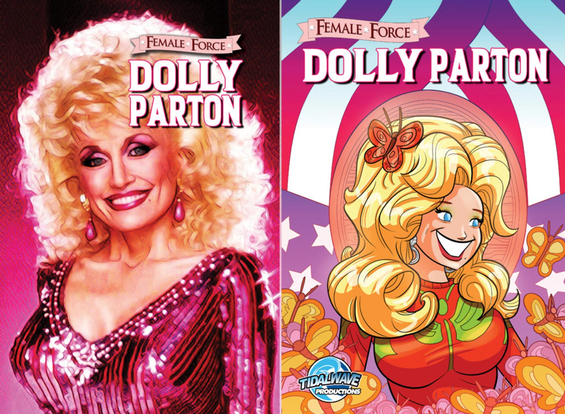 Dolly Parton Comic