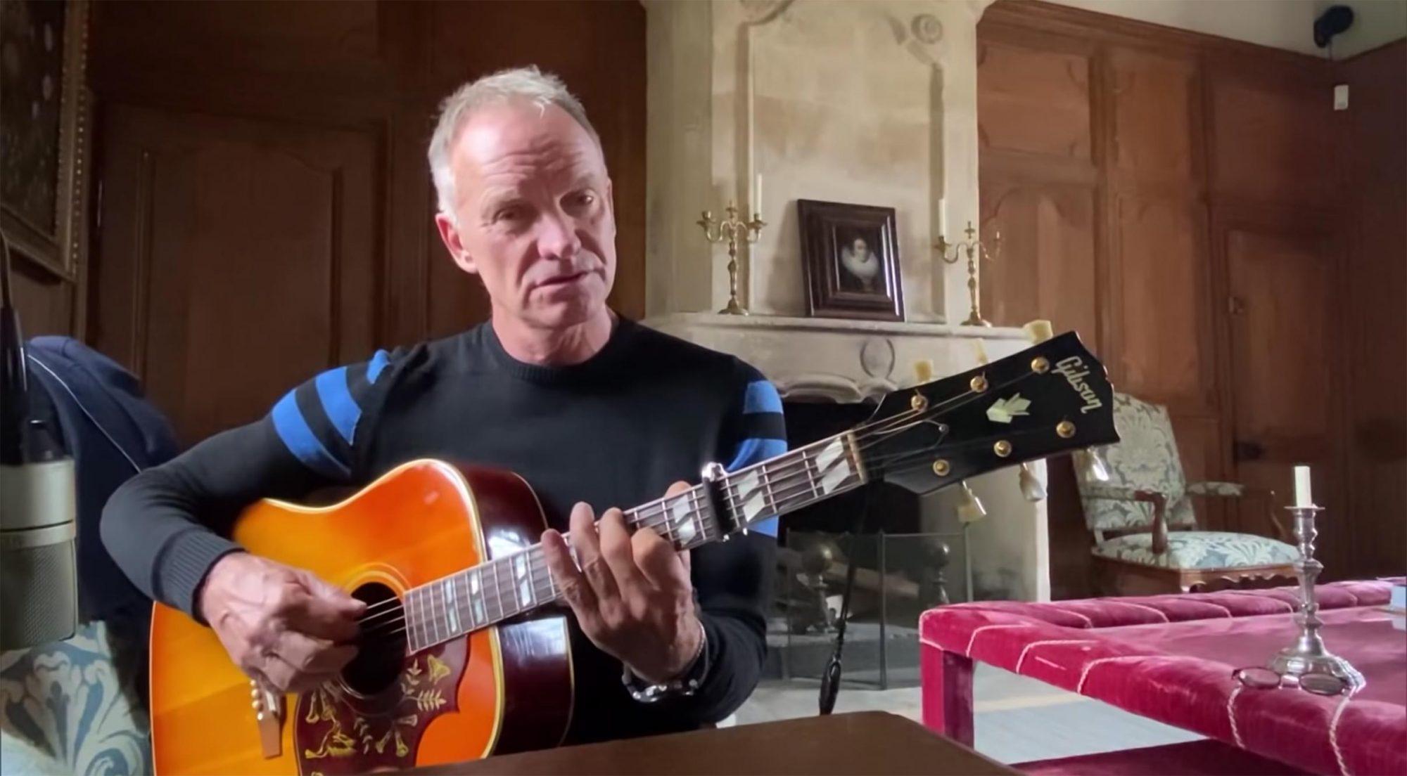 "Sting Recreates the Jeopardy! ""Think!"" Music | JEOPARDY!"