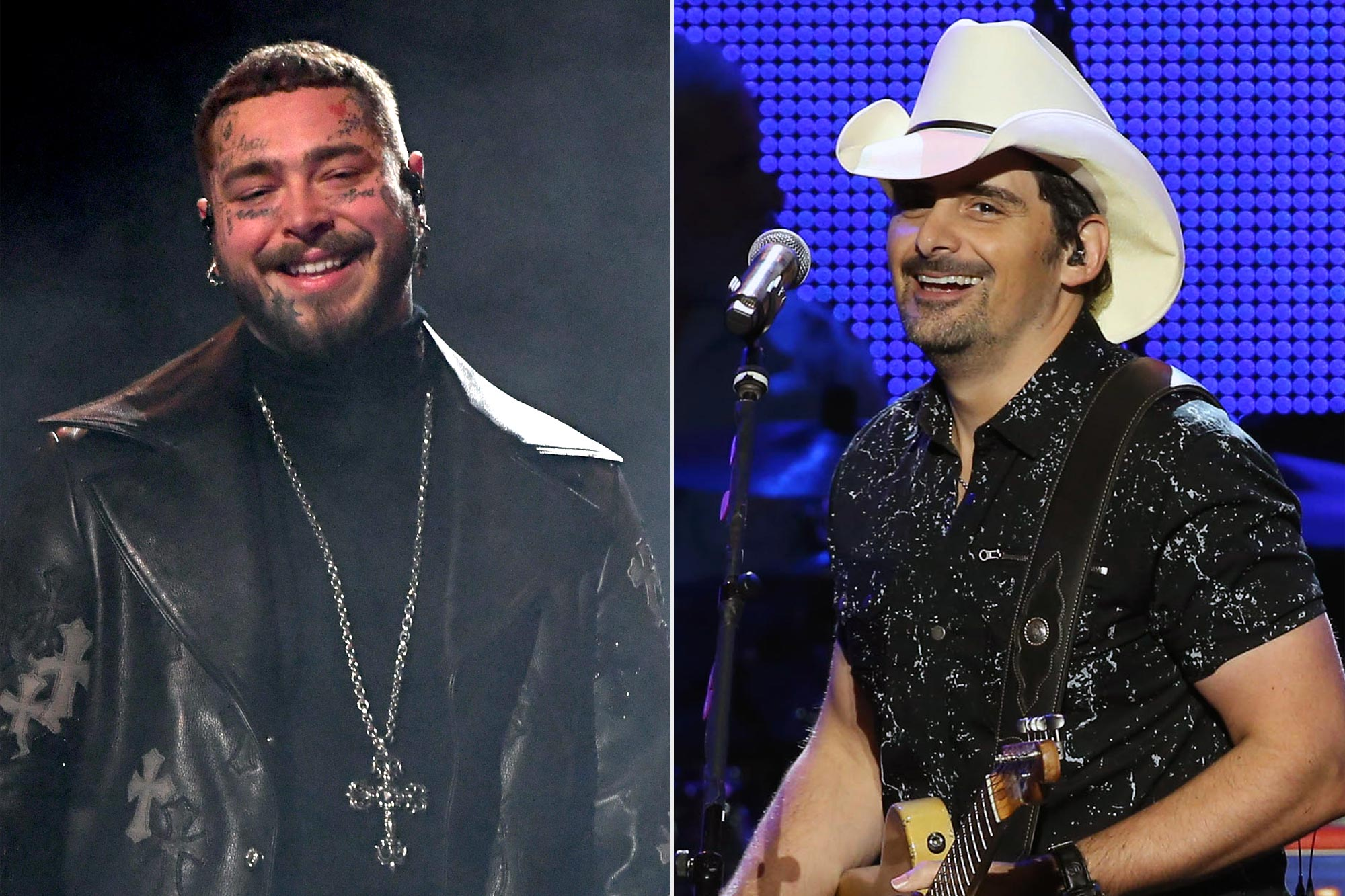 Watch Post Malone go country and cover Brad Paisley's 'I'm Gonna Miss Her' at Texas benefit
