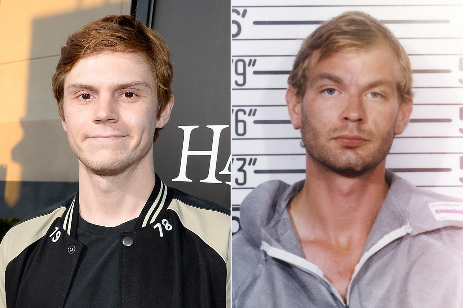 evan peters with jeffrey dahmer