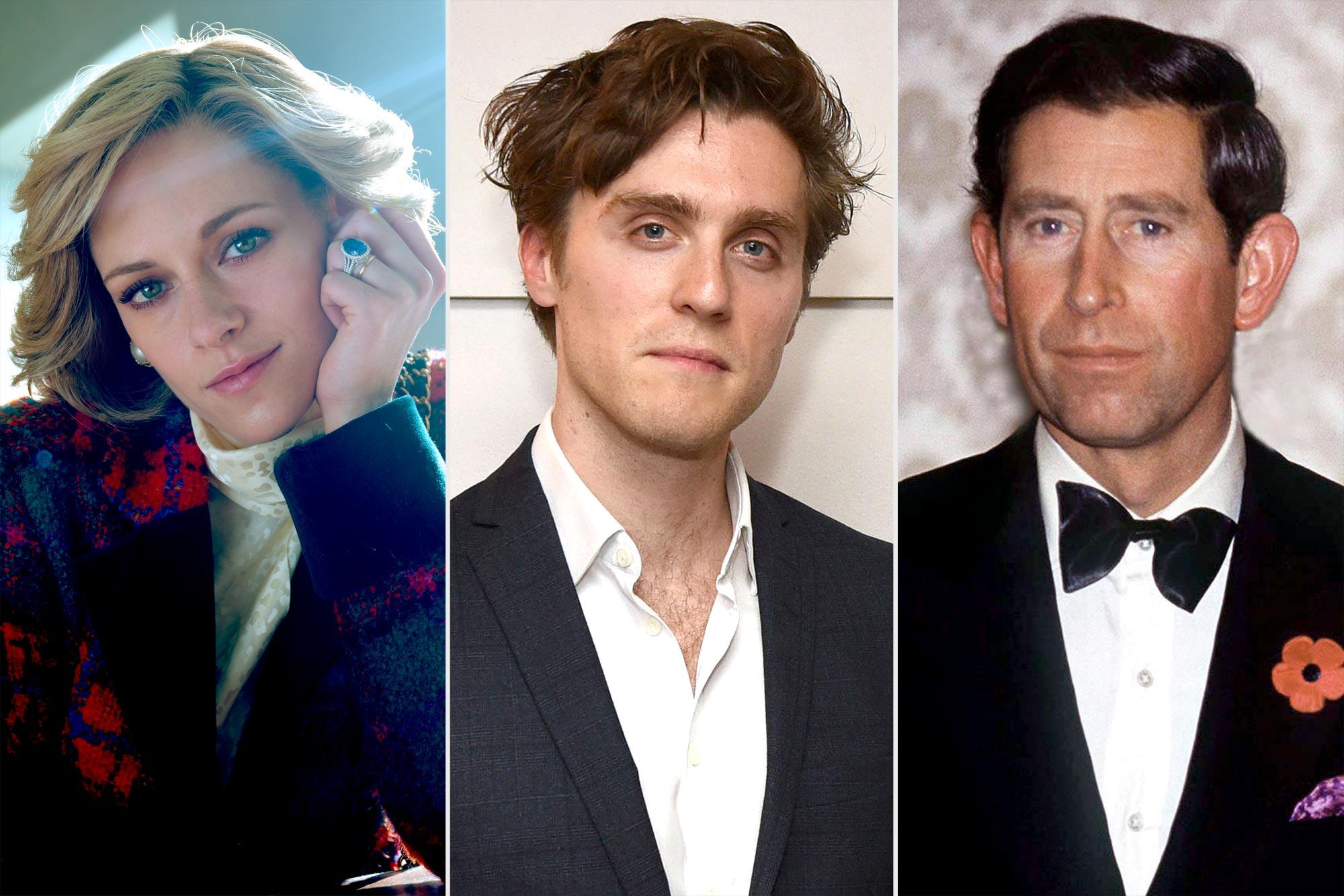 Spencer- Kristen Stewart; Jark Farthing; Prince Charles