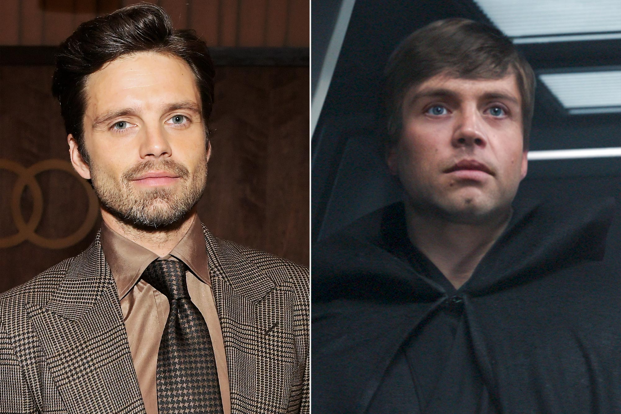 Sebastian Stan; Luke Skywalker in The Mandalorian